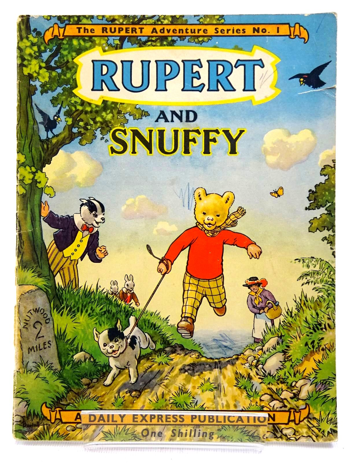 Photo of RUPERT ADVENTURE SERIES No. 1 - RUPERT AND SNUFFY written by Bestall, Alfred illustrated by Bestall, Alfred published by Daily Express (STOCK CODE: 2128597)  for sale by Stella & Rose's Books