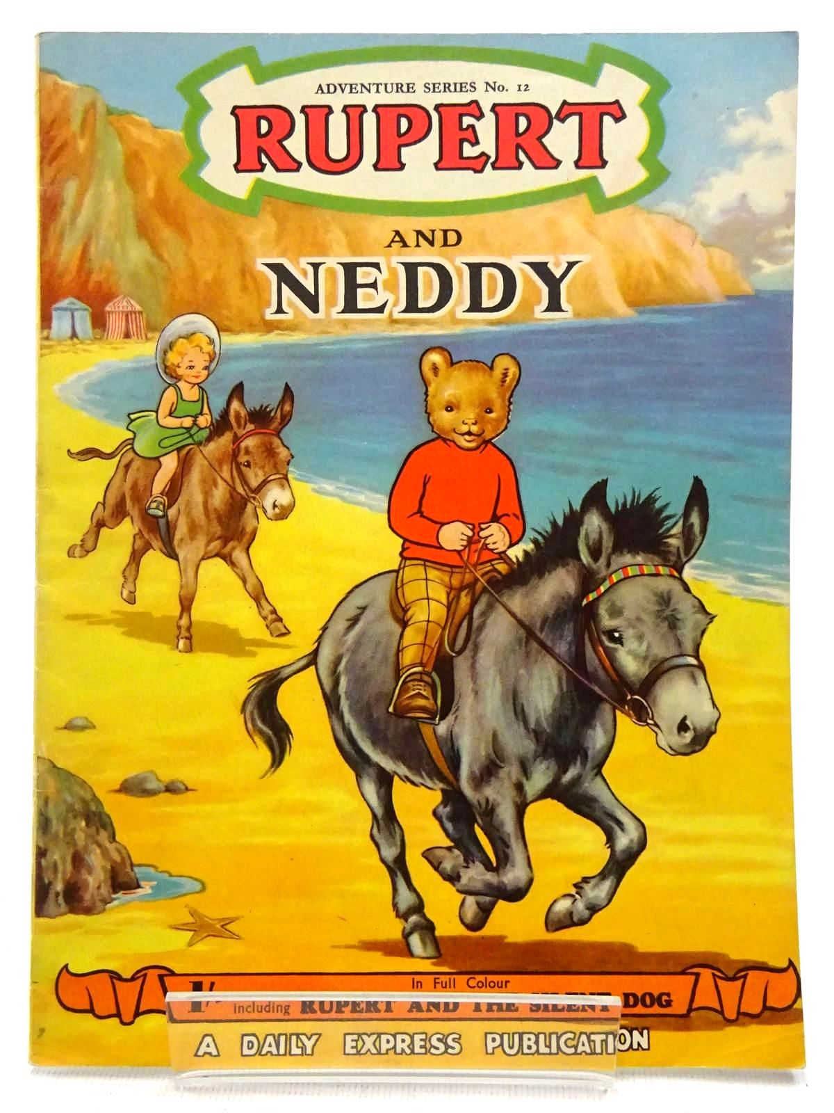 Photo of RUPERT ADVENTURE SERIES No. 12 - RUPERT AND NEDDY written by Bestall, Alfred illustrated by Ash, Enid