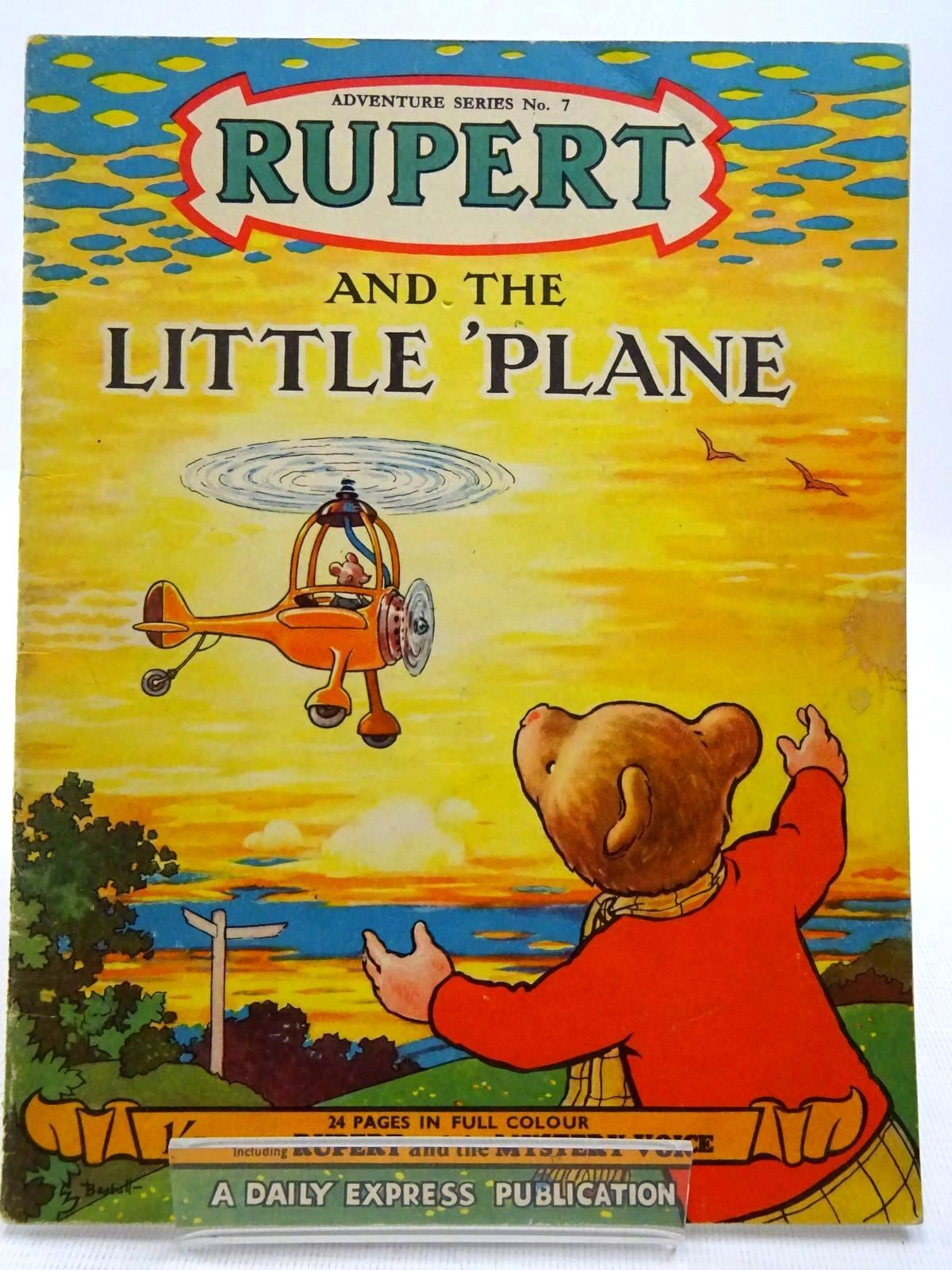 Photo of RUPERT ADVENTURE SERIES No. 7 - RUPERT AND THE LITTLE PLANE written by Bestall, Alfred illustrated by Bestall, Alfred published by Daily Express (STOCK CODE: 2128600)  for sale by Stella & Rose's Books