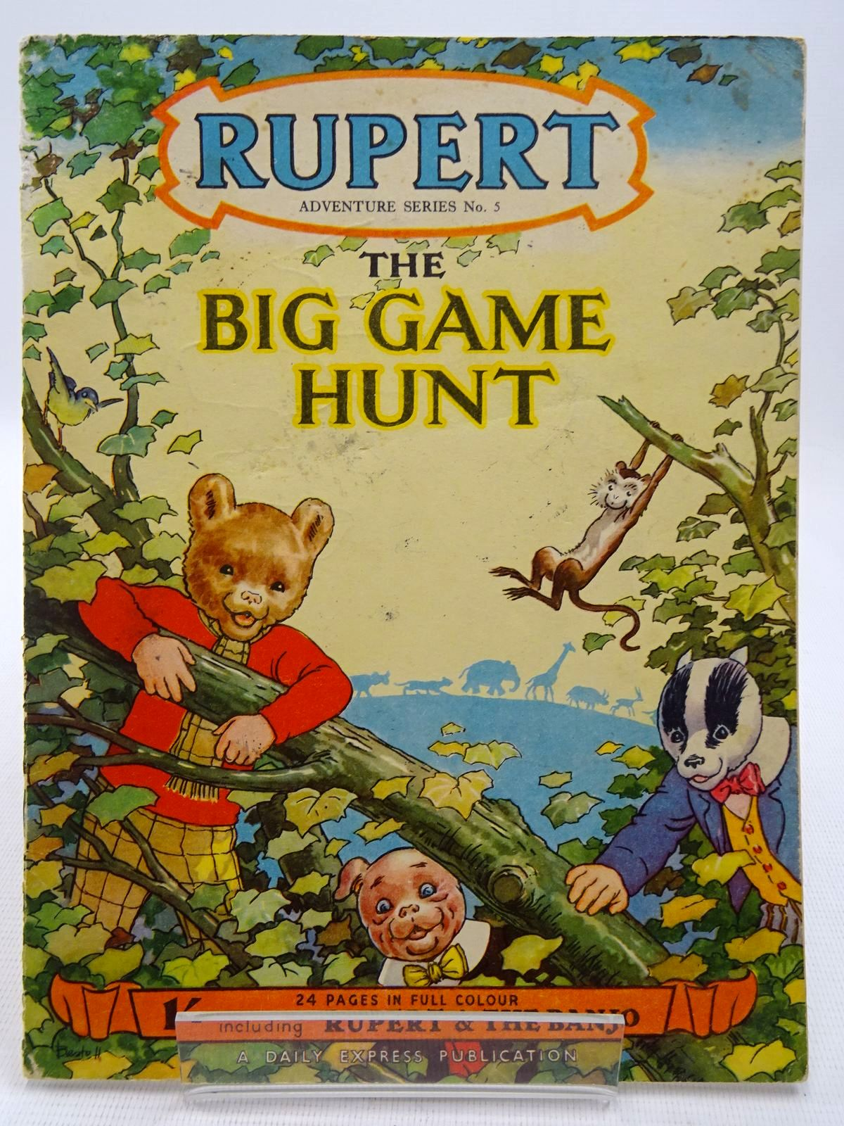 Photo of RUPERT ADVENTURE SERIES No. 5 - THE BIG GAME HUNT- Stock Number: 2128604