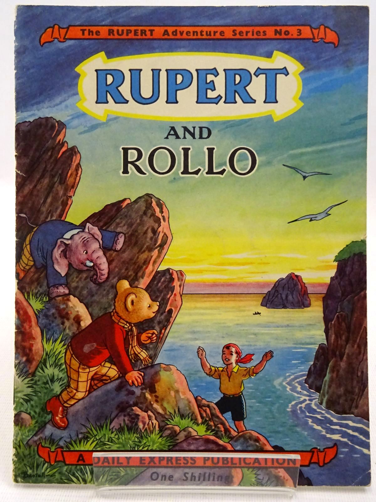 Photo of RUPERT ADVENTURE SERIES No. 3 - RUPERT AND ROLLO written by Bestall, Alfred illustrated by Bestall, Alfred published by Daily Express (STOCK CODE: 2128605)  for sale by Stella & Rose's Books