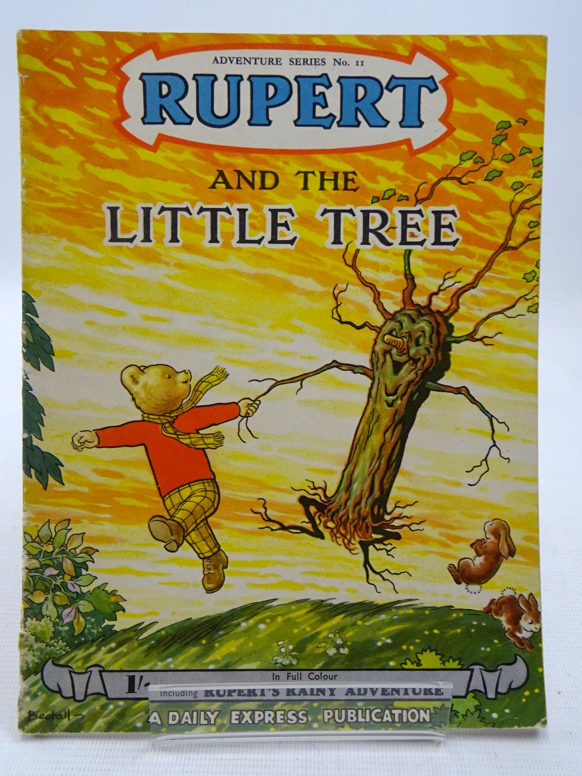 Photo of RUPERT ADVENTURE SERIES No. 11 - RUPERT AND THE LITTLE TREE written by Bestall, Alfred illustrated by Bestall, Alfred published by Daily Express (STOCK CODE: 2128606)  for sale by Stella & Rose's Books