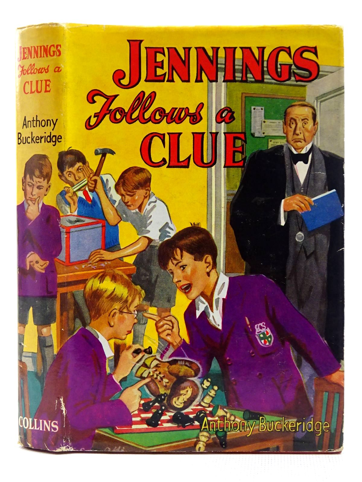 Photo of JENNINGS FOLLOWS A CLUE written by Buckeridge, Anthony published by Collins (STOCK CODE: 2128668)  for sale by Stella & Rose's Books
