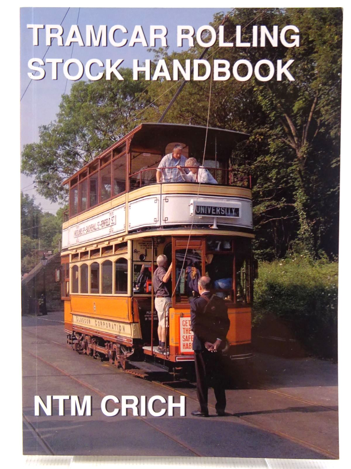 Photo of TRAMCAR ROLLING STOCK BOOK written by Senior, John Stewart, Ian published by Venture Publications (STOCK CODE: 2128703)  for sale by Stella & Rose's Books