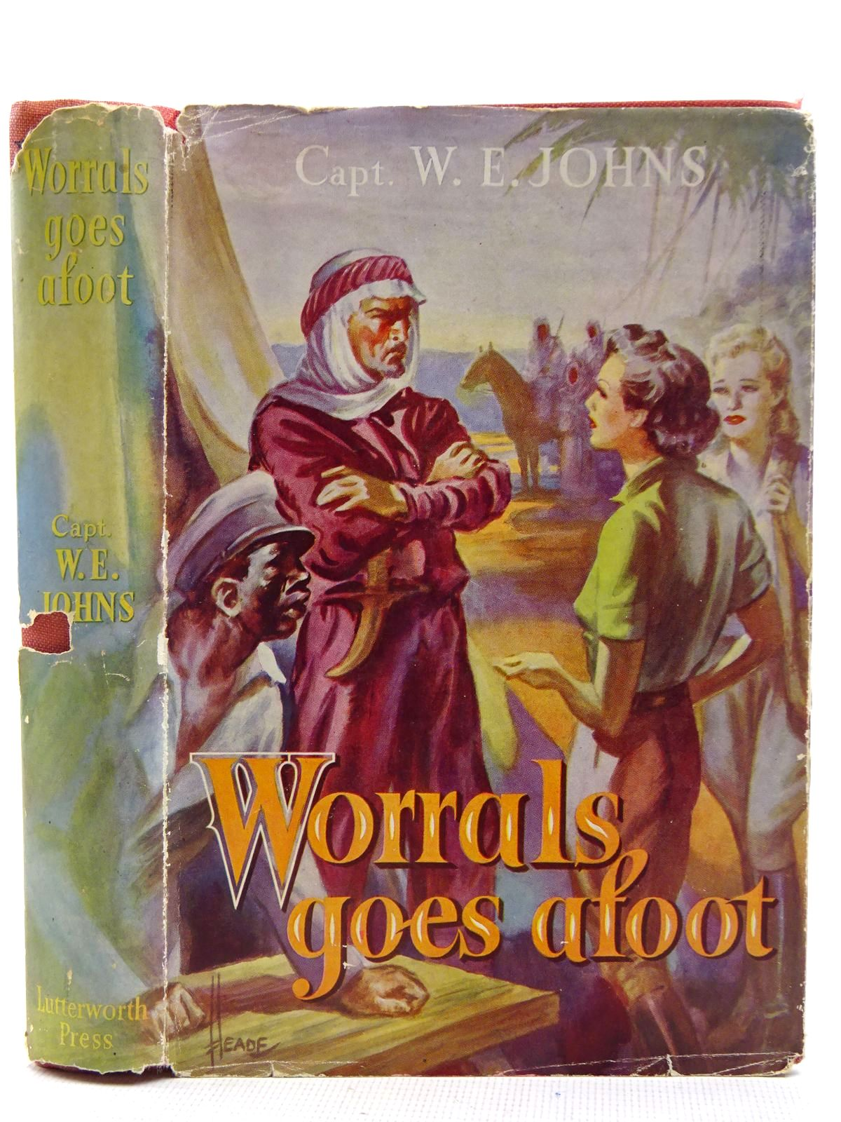 Photo of WORRALS GOES AFOOT written by Johns, W.E. published by Lutterworth Press (STOCK CODE: 2128725)  for sale by Stella & Rose's Books