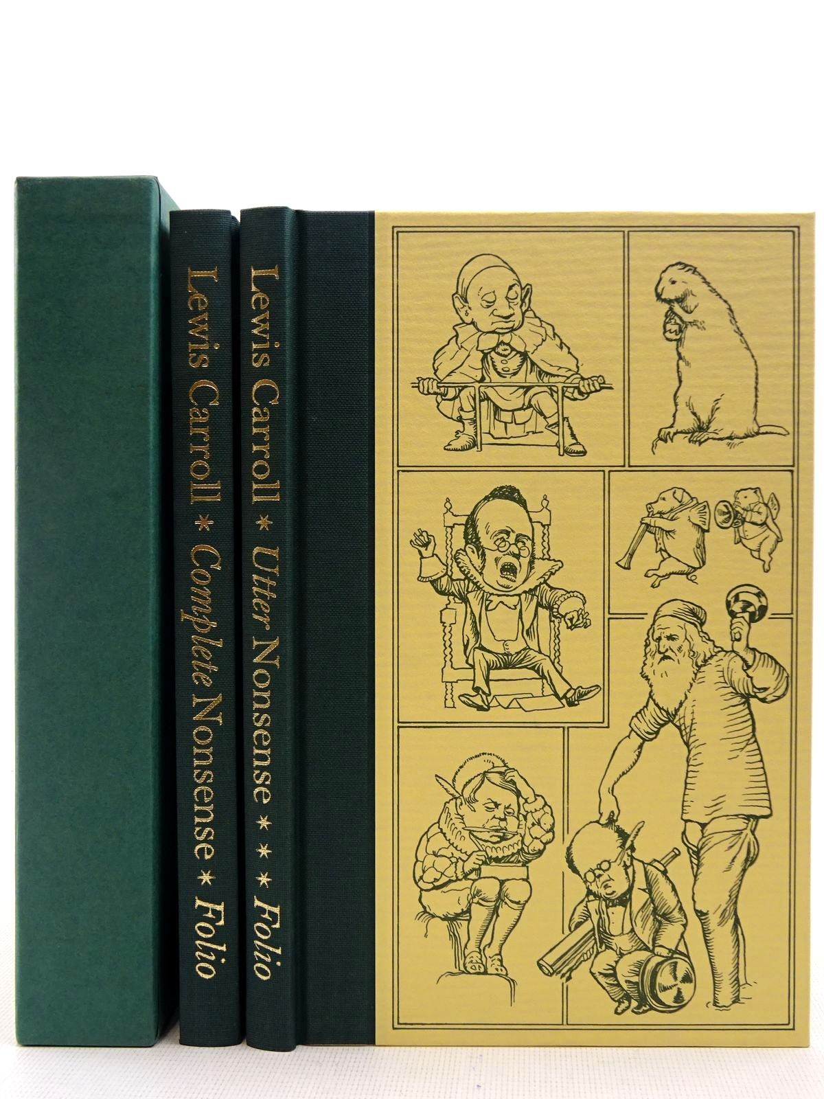 Photo of COMPLETE & UTTER NONSENSE written by Carroll, Lewis illustrated by Holiday, Henry Furniss, Harry Frost, A.B. published by Folio Society (STOCK CODE: 2128729)  for sale by Stella & Rose's Books