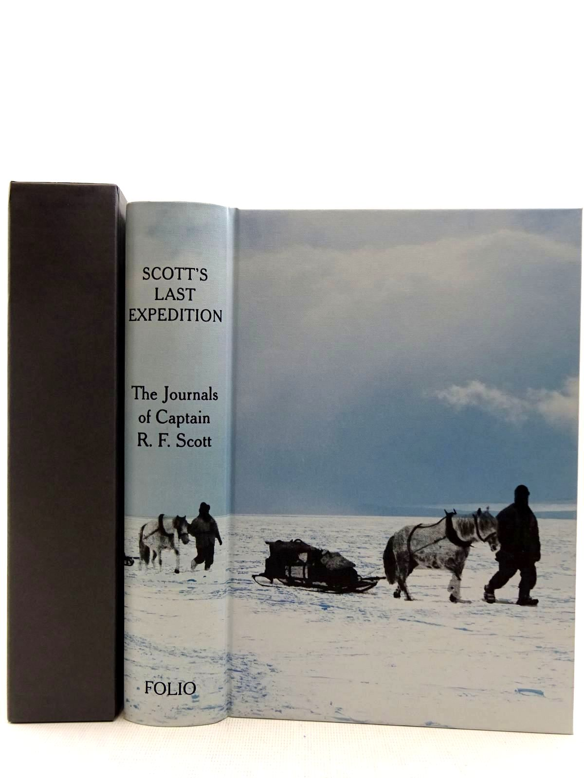Photo of SCOTT'S LAST EXPEDITION written by Scott, Robert Falcon illustrated by Ponting, Herbert G. published by Folio Society (STOCK CODE: 2128746)  for sale by Stella & Rose's Books