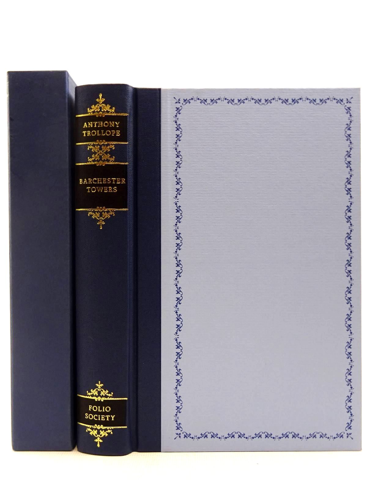 Photo of BARCHESTER TOWERS written by Trollope, Anthony<br />Rendell, Ruth illustrated by Pendle, Alexy published by Folio Society (STOCK CODE: 2128750)  for sale by Stella & Rose's Books