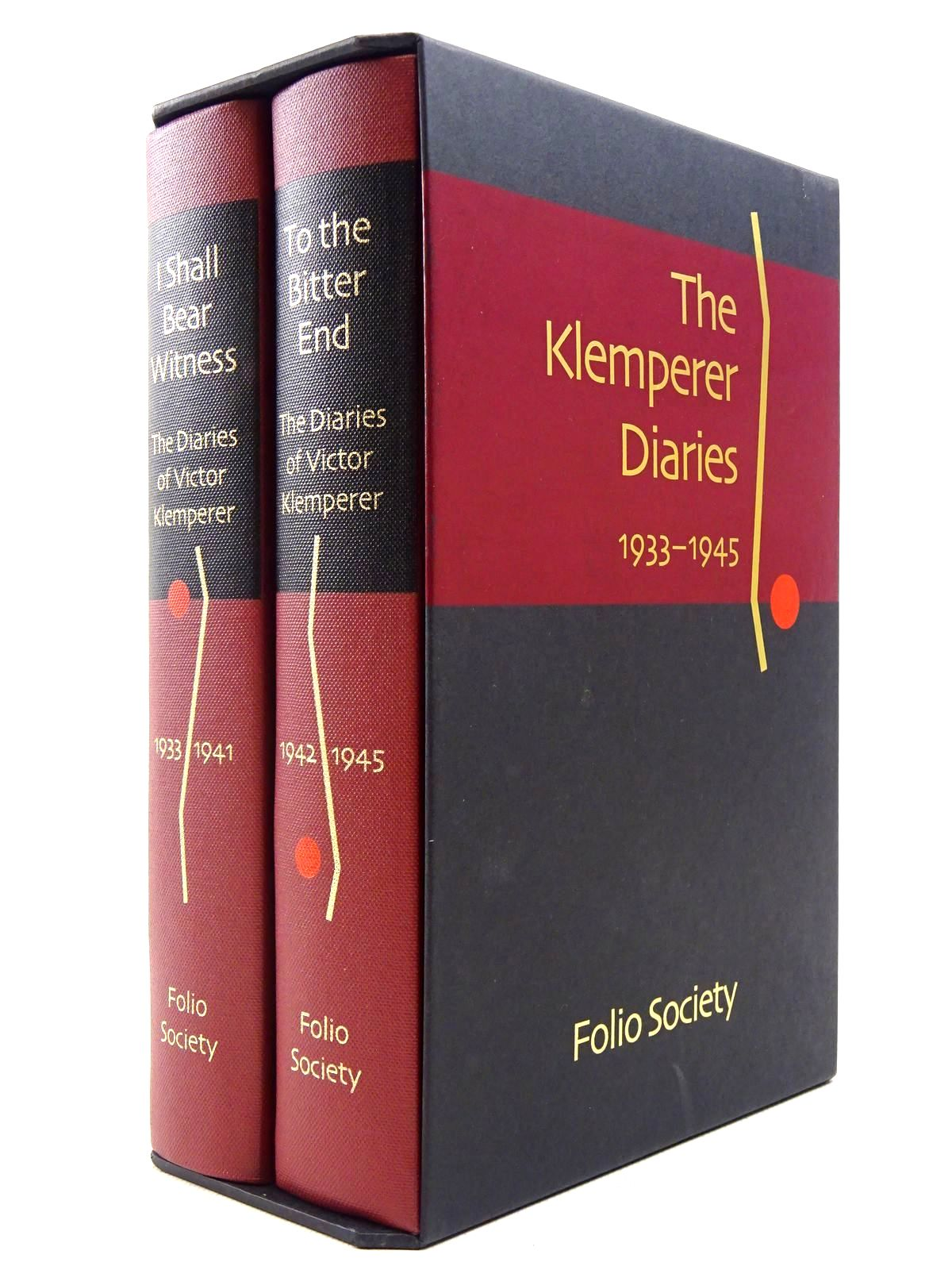 Photo of THE DIARIES OF VICTOR KLEMPERER (2 VOLUMES) written by Klemperer, Victor published by Folio Society (STOCK CODE: 2128799)  for sale by Stella & Rose's Books