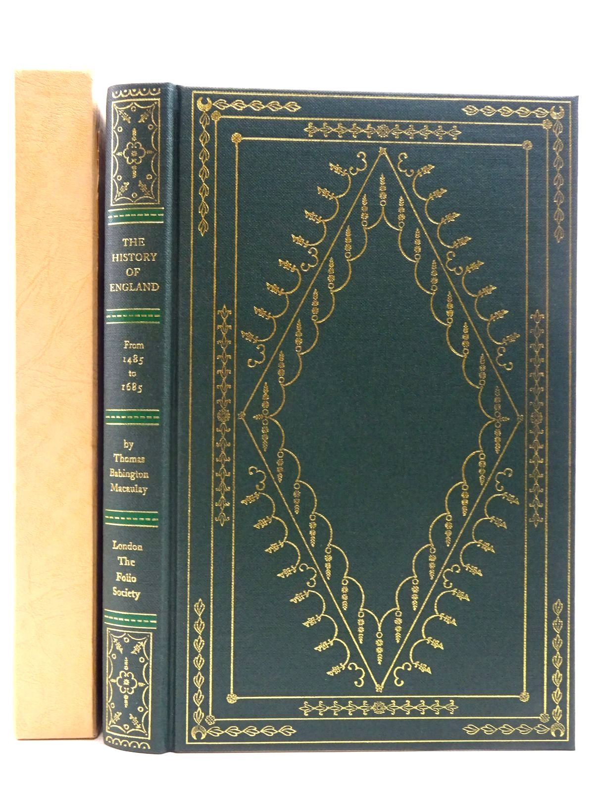 Photo of THE HISTORY OF ENGLAND 1485-1685 written by Macaulay, Thomas Babington Rowland, Peter published by Folio Society (STOCK CODE: 2128800)  for sale by Stella & Rose's Books