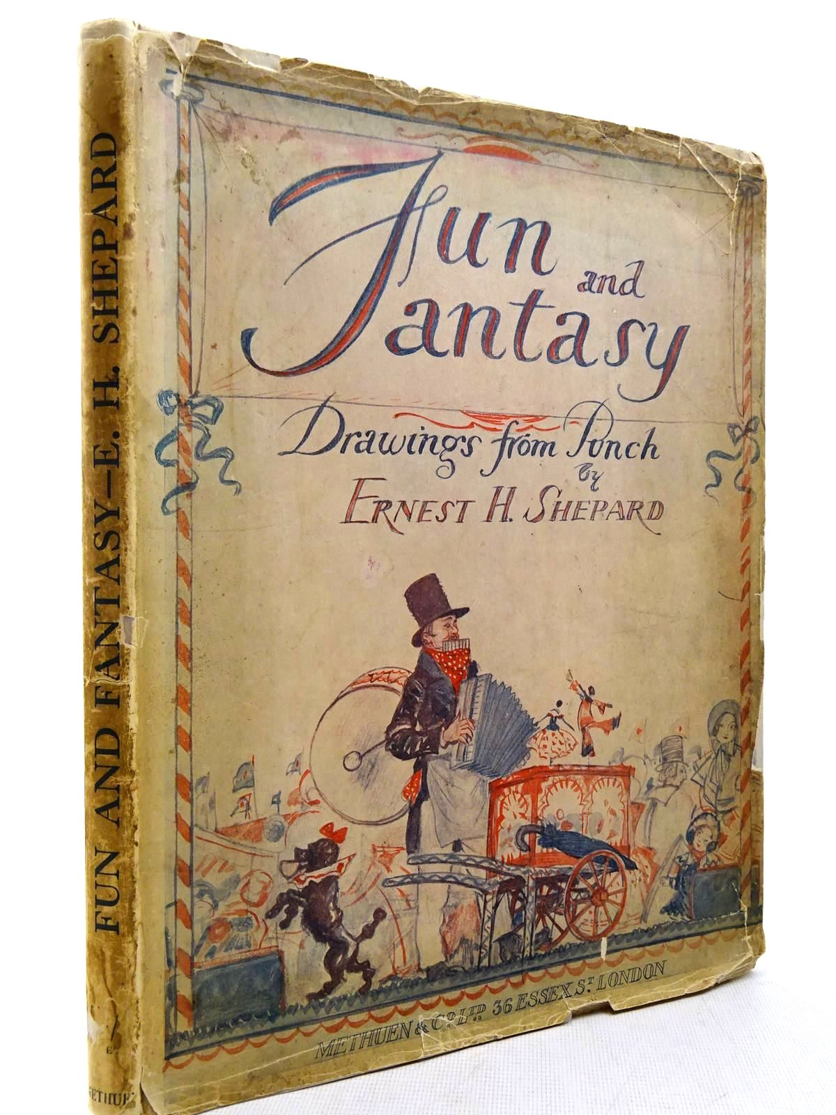 Photo of FUN & FANTASY A BOOK OF DRAWINGS written by Milne, A.A.