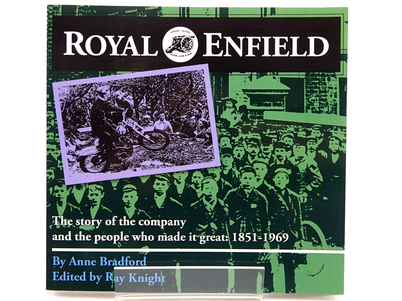 Photo of ROYAL ENFIELD FROM THE BICYCLE TO THE BULLET- Stock Number: 2129003
