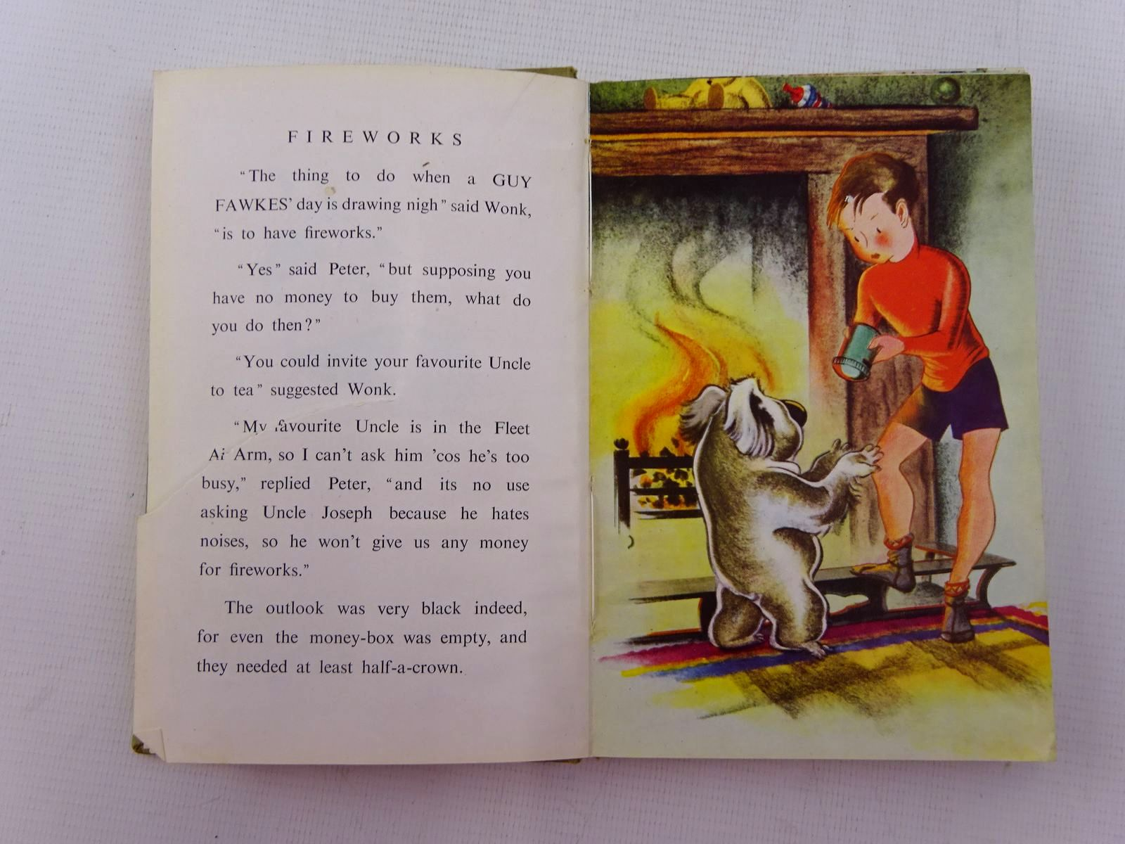Photo of THE ADVENTURES OF WONK - FIREWORKS written by Levy, Muriel illustrated by Kiddell-Monroe, Joan published by Wills & Hepworth Ltd. (STOCK CODE: 2129021)  for sale by Stella & Rose's Books