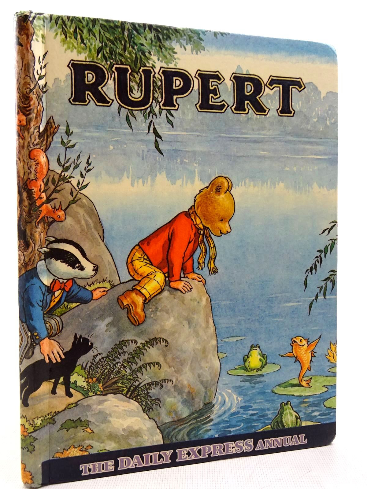 Photo of RUPERT ANNUAL 1969 written by Bestall, Alfred illustrated by Bestall, Alfred published by Daily Express (STOCK CODE: 2129029)  for sale by Stella & Rose's Books