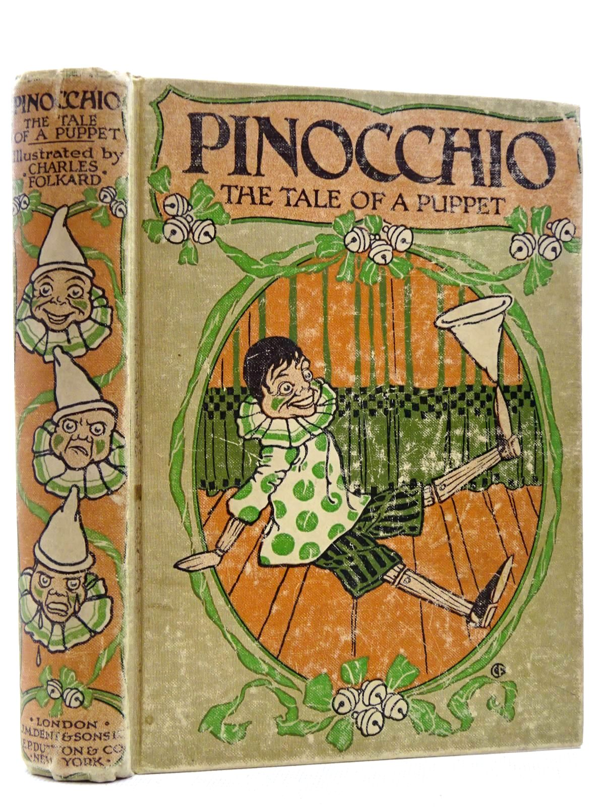 Photo of PINOCCHIO THE TALE OF A PUPPET written by Collodi, Carlo Murray, M.A. illustrated by Folkard, Charles published by J.M. Dent & Sons Ltd. (STOCK CODE: 2129037)  for sale by Stella & Rose's Books