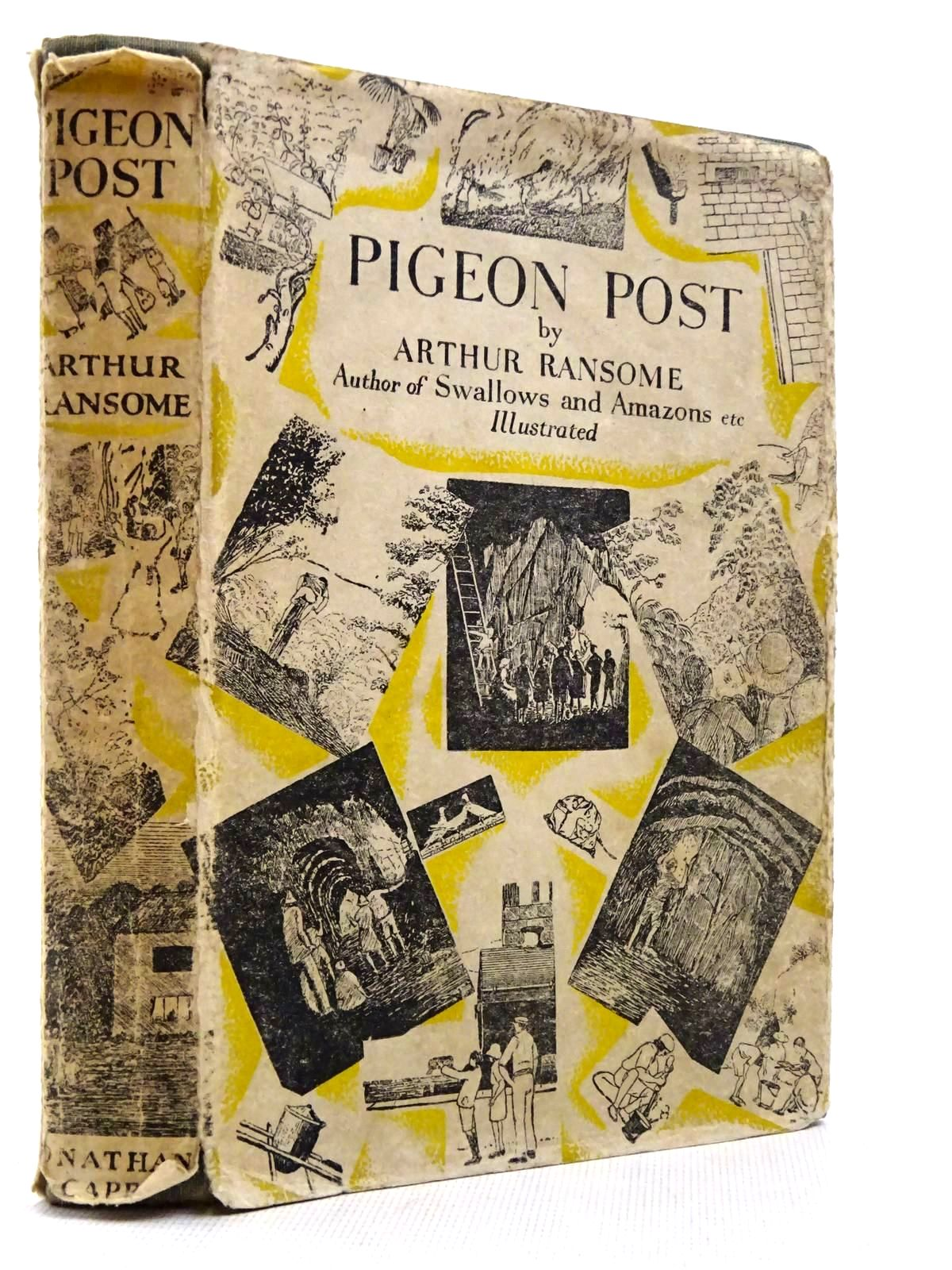 Photo of PIGEON POST written by Ransome, Arthur illustrated by Ransome, Arthur published by Jonathan Cape (STOCK CODE: 2129046)  for sale by Stella & Rose's Books