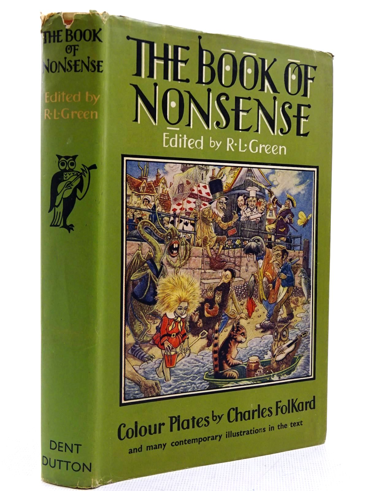 Photo of THE BOOK OF NONSENSE written by Green, Roger Lancelyn illustrated by Folkard, Charles published by J.M. Dent & Sons Ltd. (STOCK CODE: 2129067)  for sale by Stella & Rose's Books