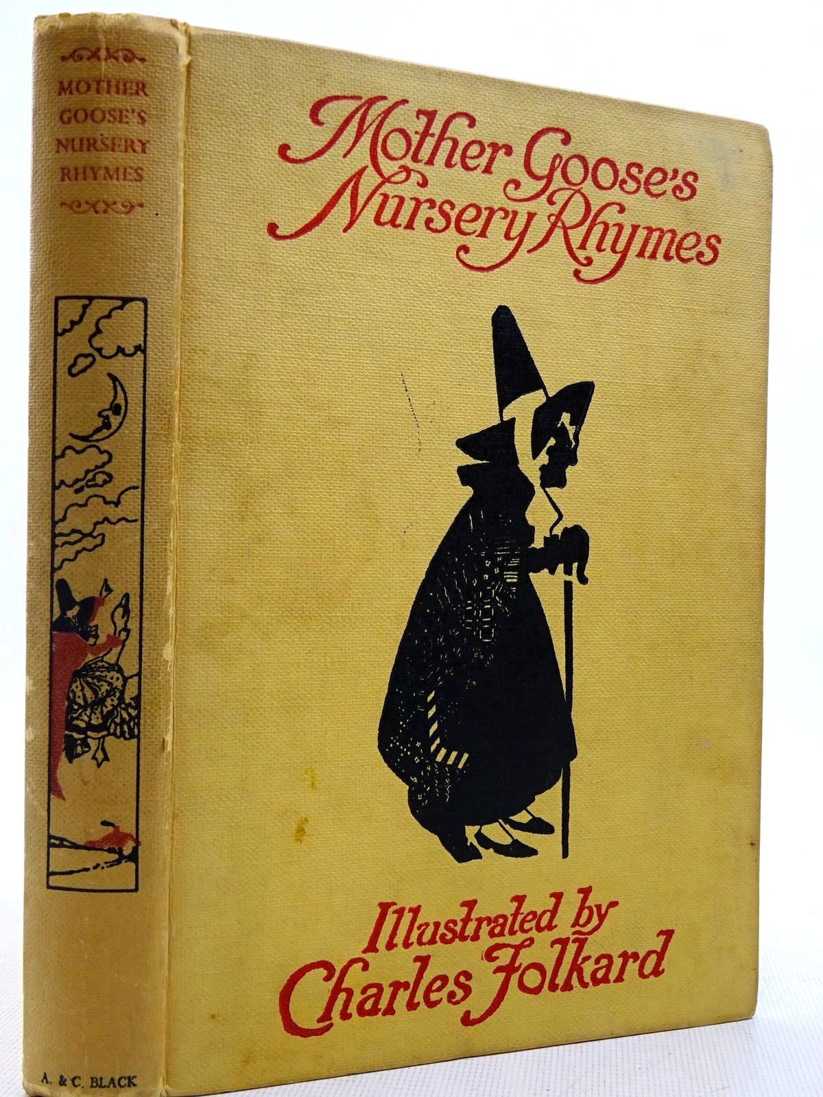 Photo of MOTHER GOOSE'S NURSERY RHYMES written by Walter, L. Edna illustrated by Folkard, Charles published by Adam & Charles Black (STOCK CODE: 2129068)  for sale by Stella & Rose's Books