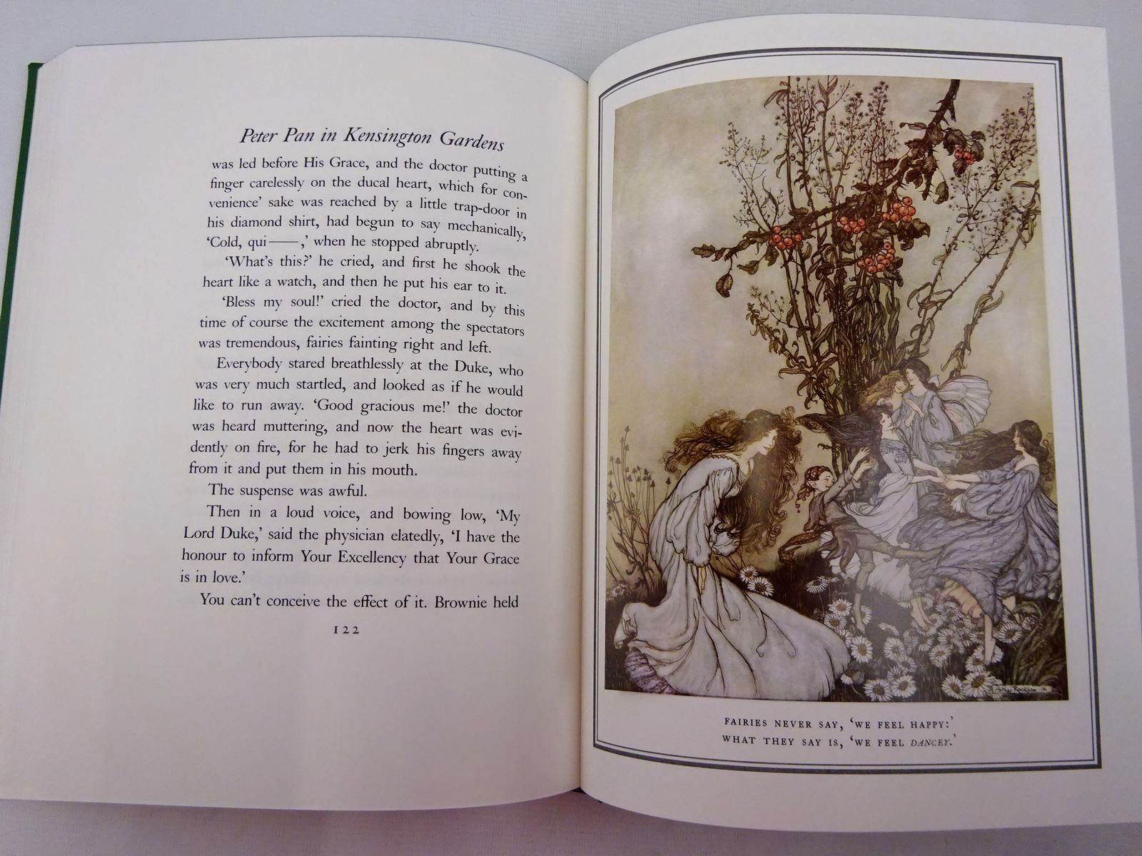 Photo of PETER PAN IN KENSINGTON GARDENS written by Barrie, J.M. illustrated by Rackham, Arthur published by Folio Society (STOCK CODE: 2129087)  for sale by Stella & Rose's Books