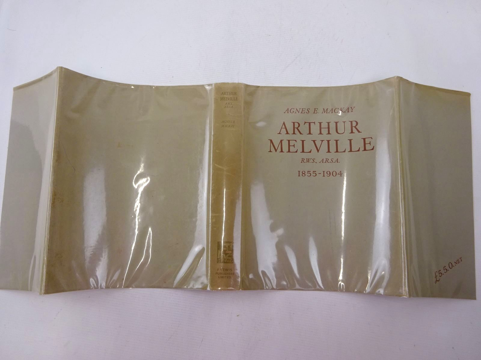 Photo of ARTHUR MELVILLE SCOTTISH IMPRESSIONIST (1855-1904) written by Mackay, Agnes Ethel illustrated by Melville, Arthur published by F. Lewis Publishers Limited (STOCK CODE: 2129104)  for sale by Stella & Rose's Books