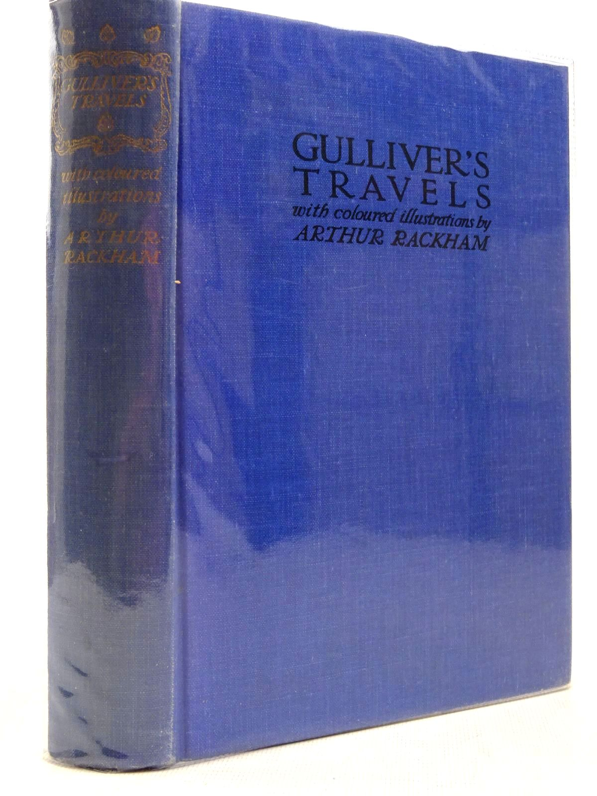 Photo of GULLIVER'S TRAVELS written by Swift, Jonathan illustrated by Rackham, Arthur published by Temple Press (STOCK CODE: 2129119)  for sale by Stella & Rose's Books