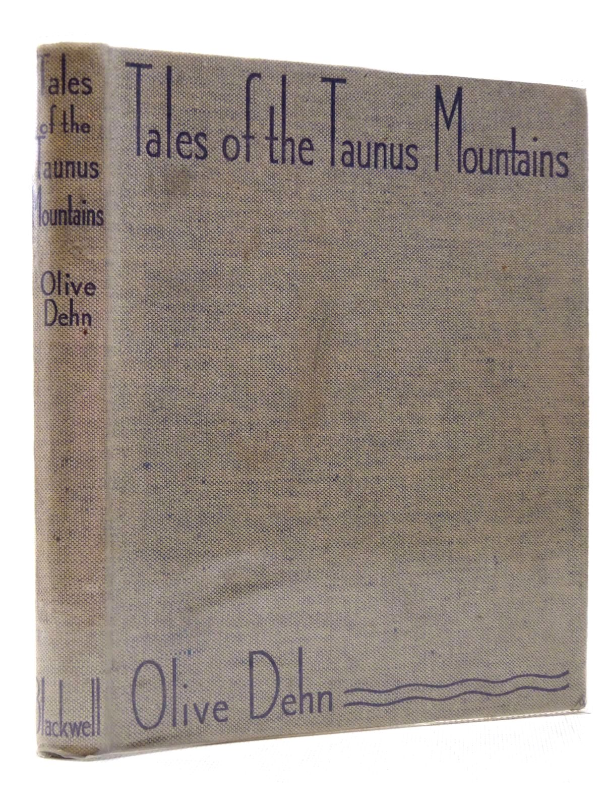 Photo of TALES OF THE TAUNUS MOUNTAINS- Stock Number: 2129153