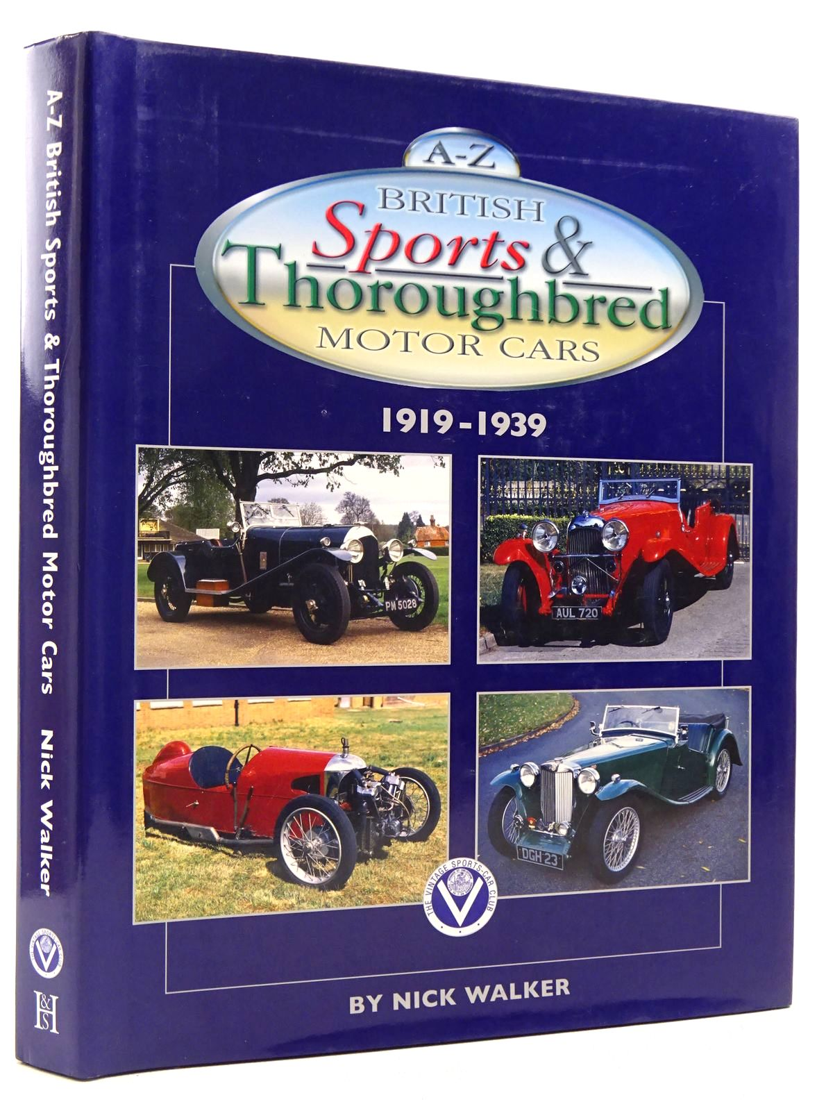 Photo of A-Z BRITISH SPORTS & THOROUGHBRED MOTOR CARS 1919-1939 written by Walker, Nick published by Herridge & Sons (STOCK CODE: 2129154)  for sale by Stella & Rose's Books