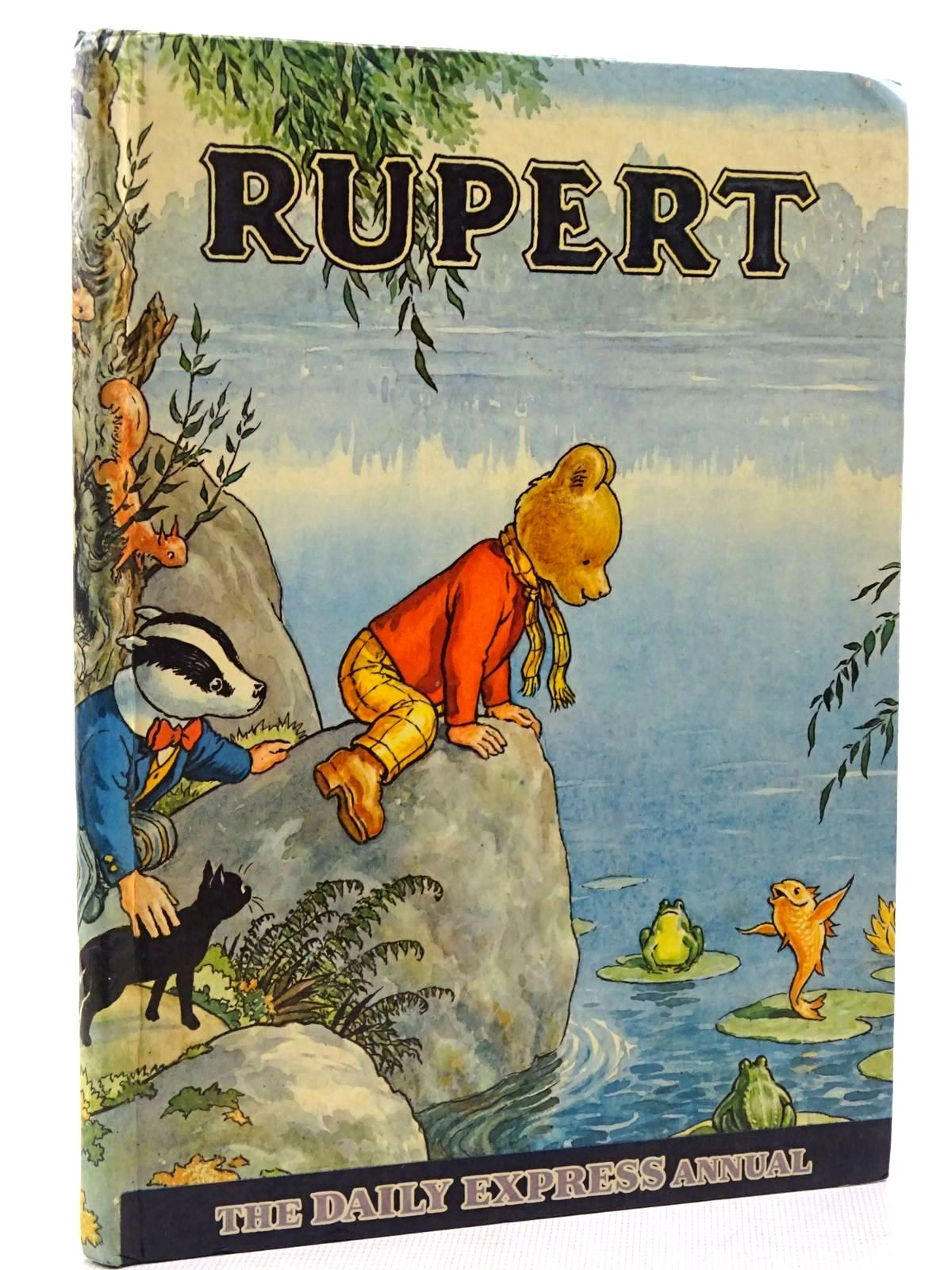 Photo of RUPERT ANNUAL 1969 written by Bestall, Alfred illustrated by Bestall, Alfred published by Daily Express (STOCK CODE: 2129199)  for sale by Stella & Rose's Books