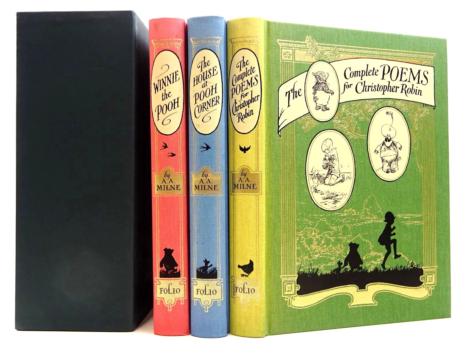 Photo of THE COMPLETE WINNIE THE POOH written by Milne, A.A. illustrated by Shepard, E.H. published by Folio Society (STOCK CODE: 2129210)  for sale by Stella & Rose's Books