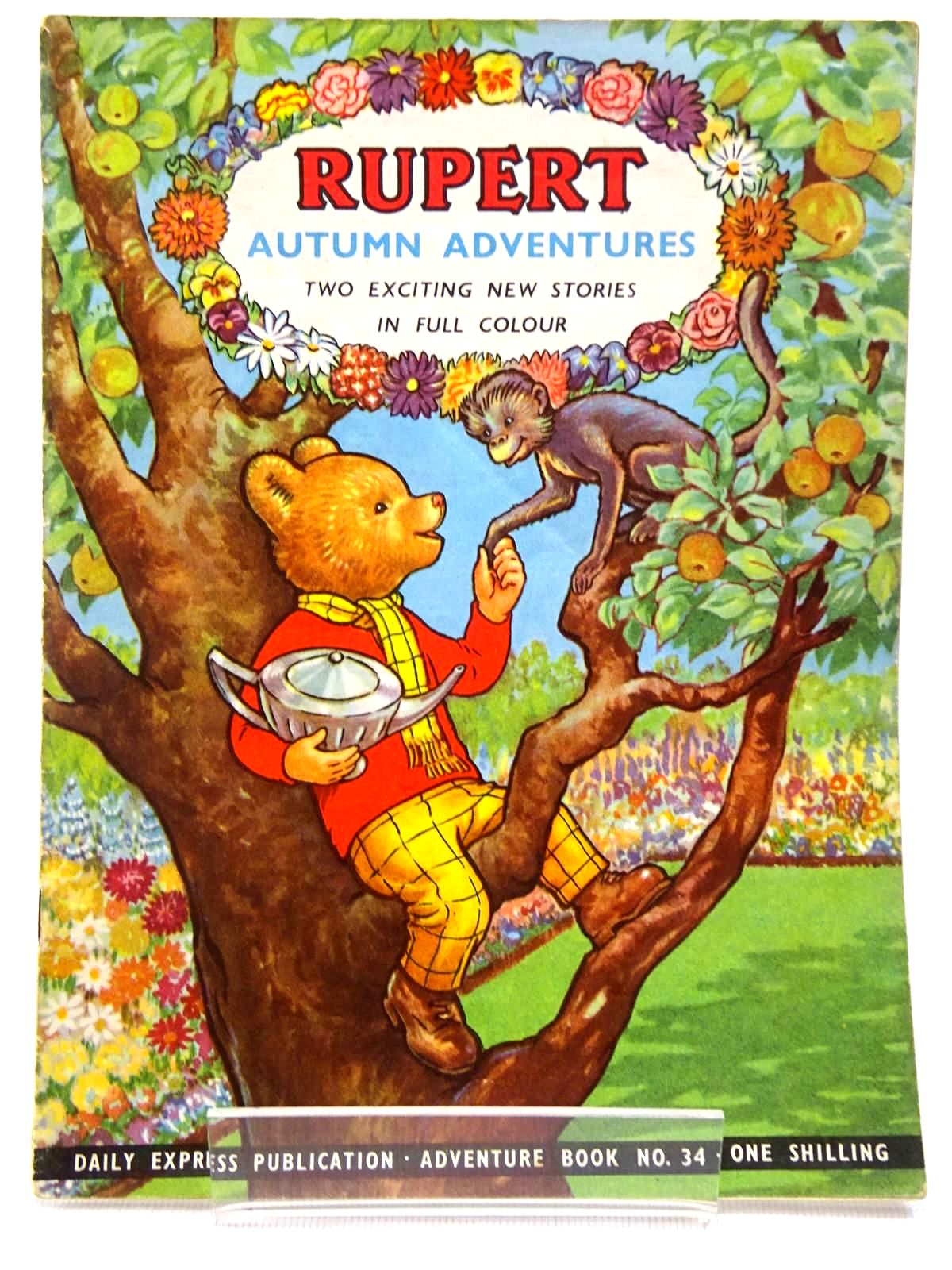 Photo of RUPERT ADVENTURE BOOK No. 34 - AUTUMN ADVENTURES- Stock Number: 2129236