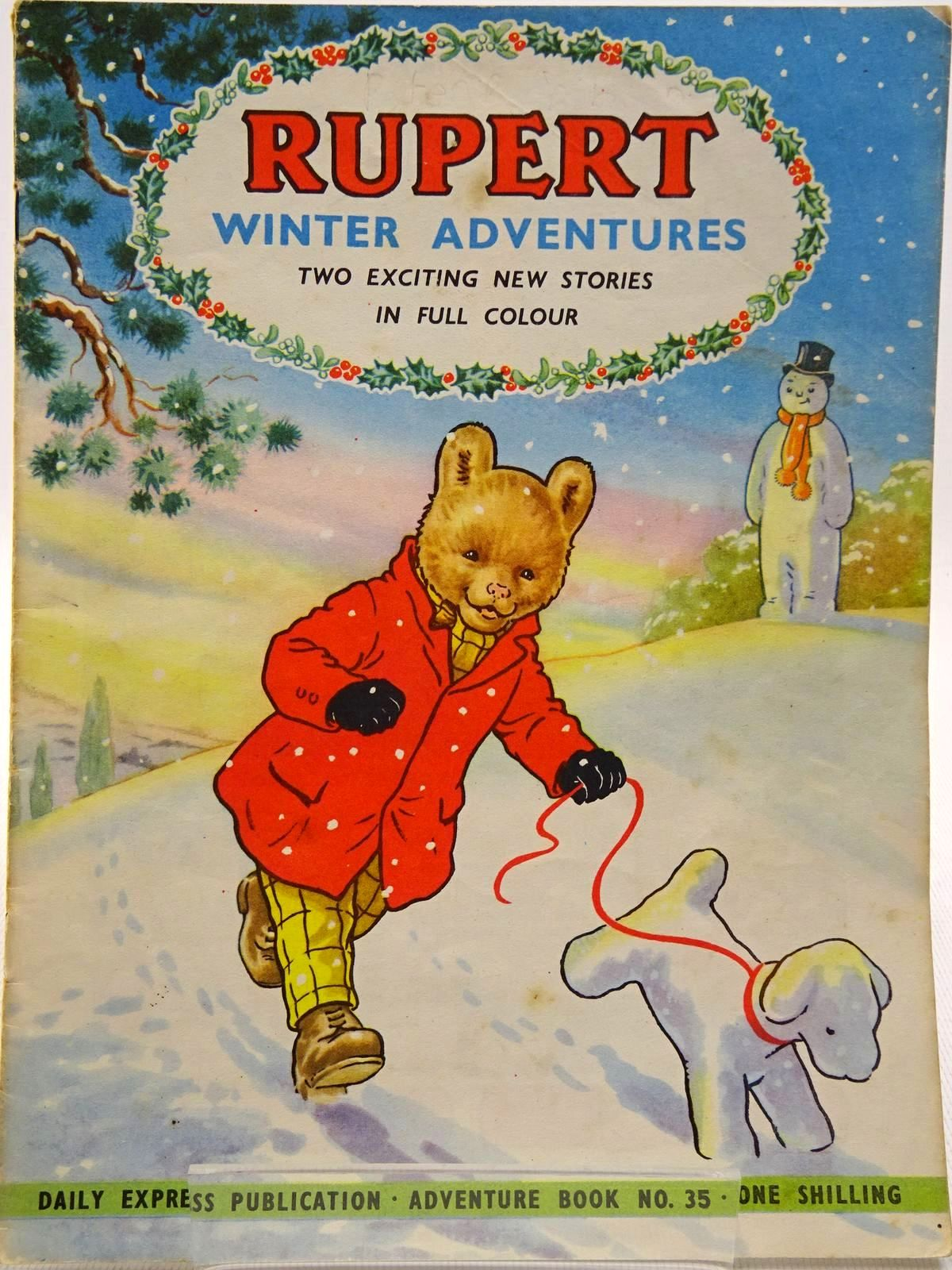 Photo of RUPERT ADVENTURE BOOK No. 35 - WINTER ADVENTURES- Stock Number: 2129239