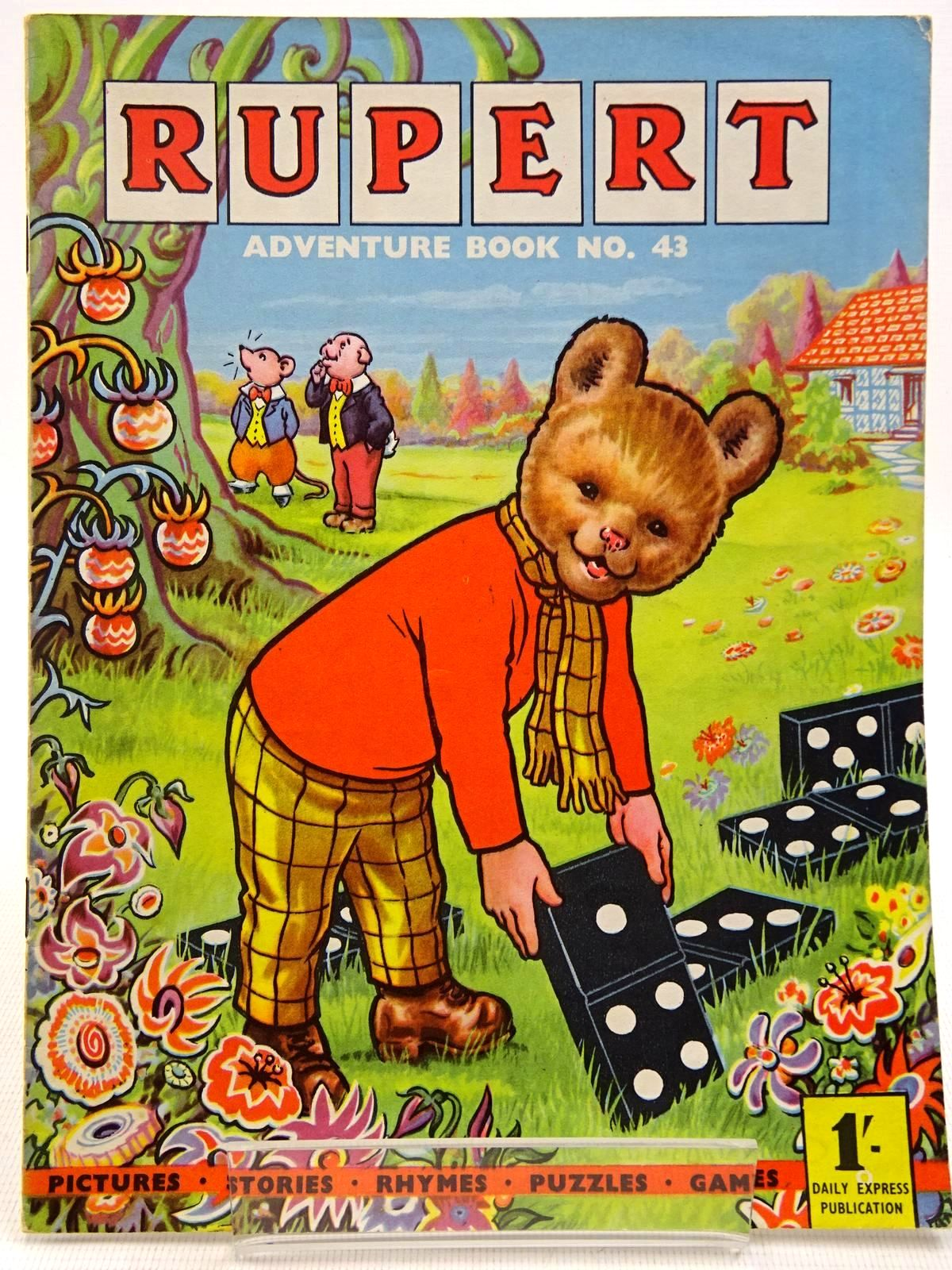 Photo of RUPERT ADVENTURE BOOK No. 43 written by Bestall, Alfred published by Daily Express (STOCK CODE: 2129243)  for sale by Stella & Rose's Books