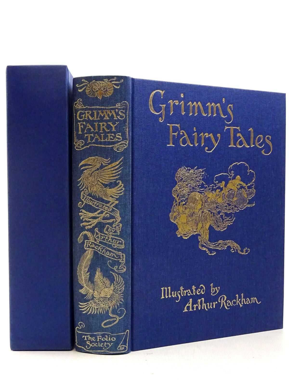 Photo of THE FAIRY TALES OF THE BROTHERS GRIMM written by Grimm, Brothers illustrated by Rackham, Arthur published by Folio Society (STOCK CODE: 2129351)  for sale by Stella & Rose's Books
