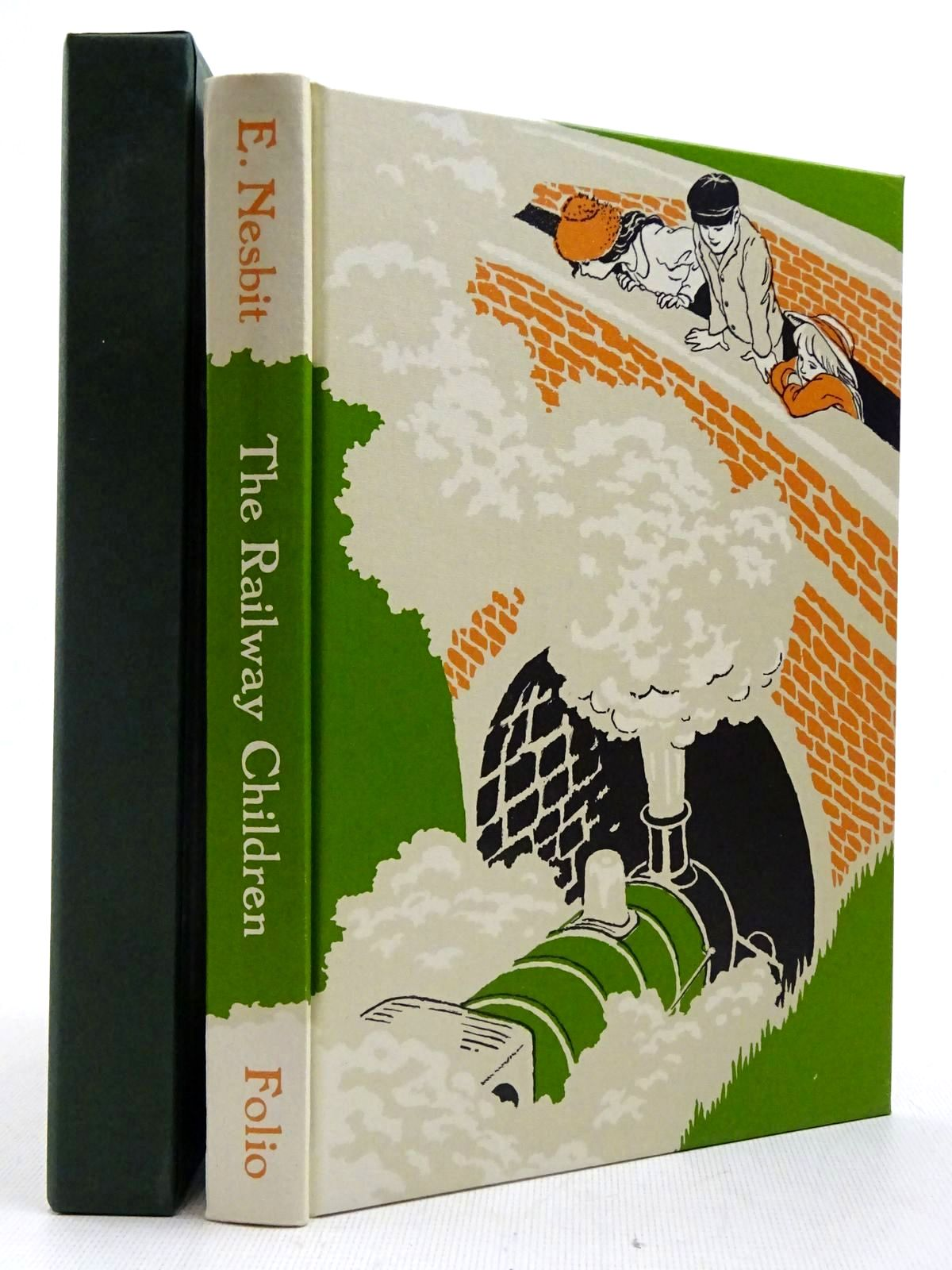 Photo of THE RAILWAY CHILDREN written by Nesbit, E. Cresswell, Helen illustrated by Moore, Inga published by Folio Society (STOCK CODE: 2129368)  for sale by Stella & Rose's Books
