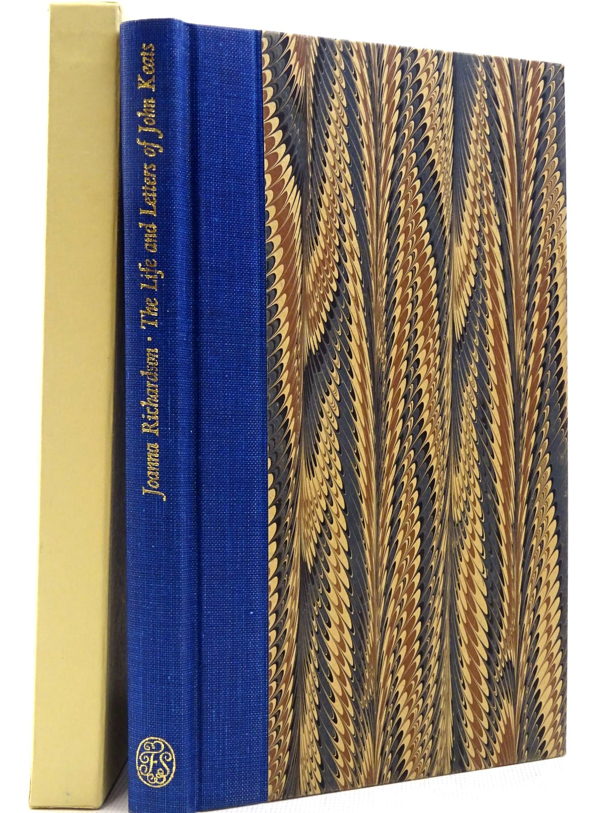 Photo of THE LIFE AND LETTERS OF JOHN KEATS written by Richardson, Joanna Keats, John published by Folio Society (STOCK CODE: 2129373)  for sale by Stella & Rose's Books