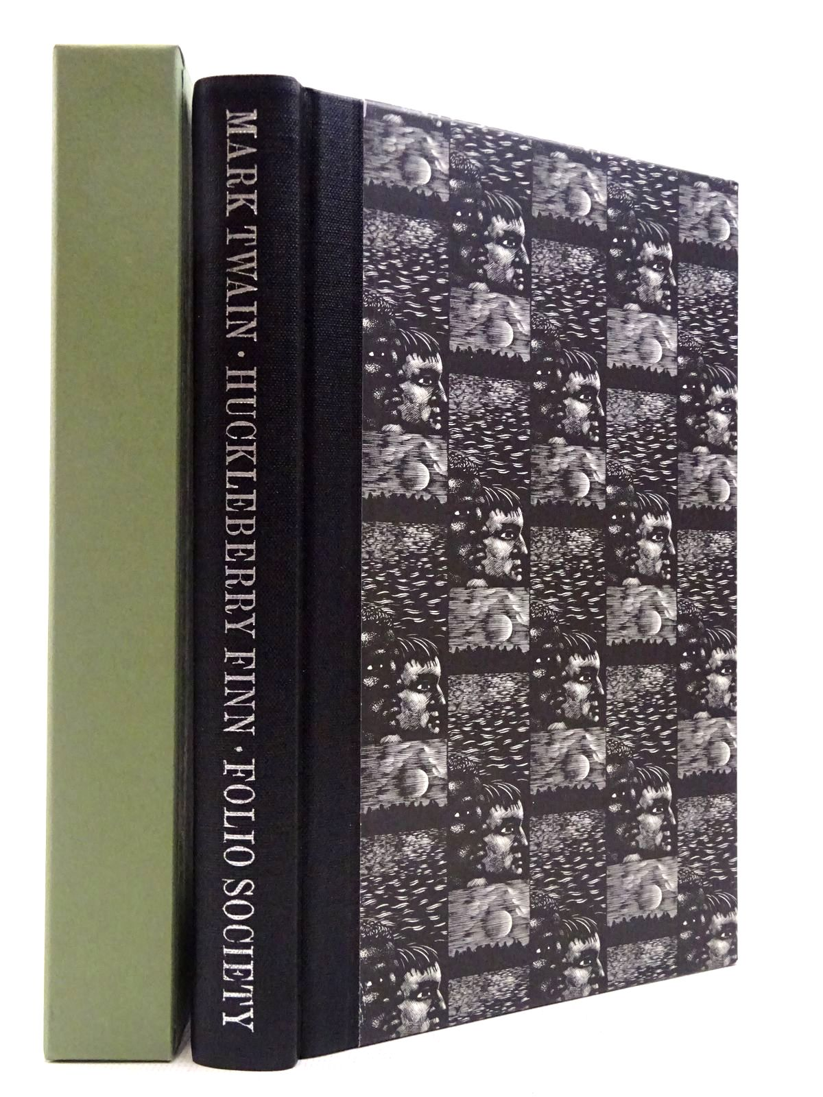 Photo of THE ADVENTURES OF HUCKLEBERRY FINN written by Twain, Mark illustrated by Brockway, Harry published by Folio Society (STOCK CODE: 2129386)  for sale by Stella & Rose's Books