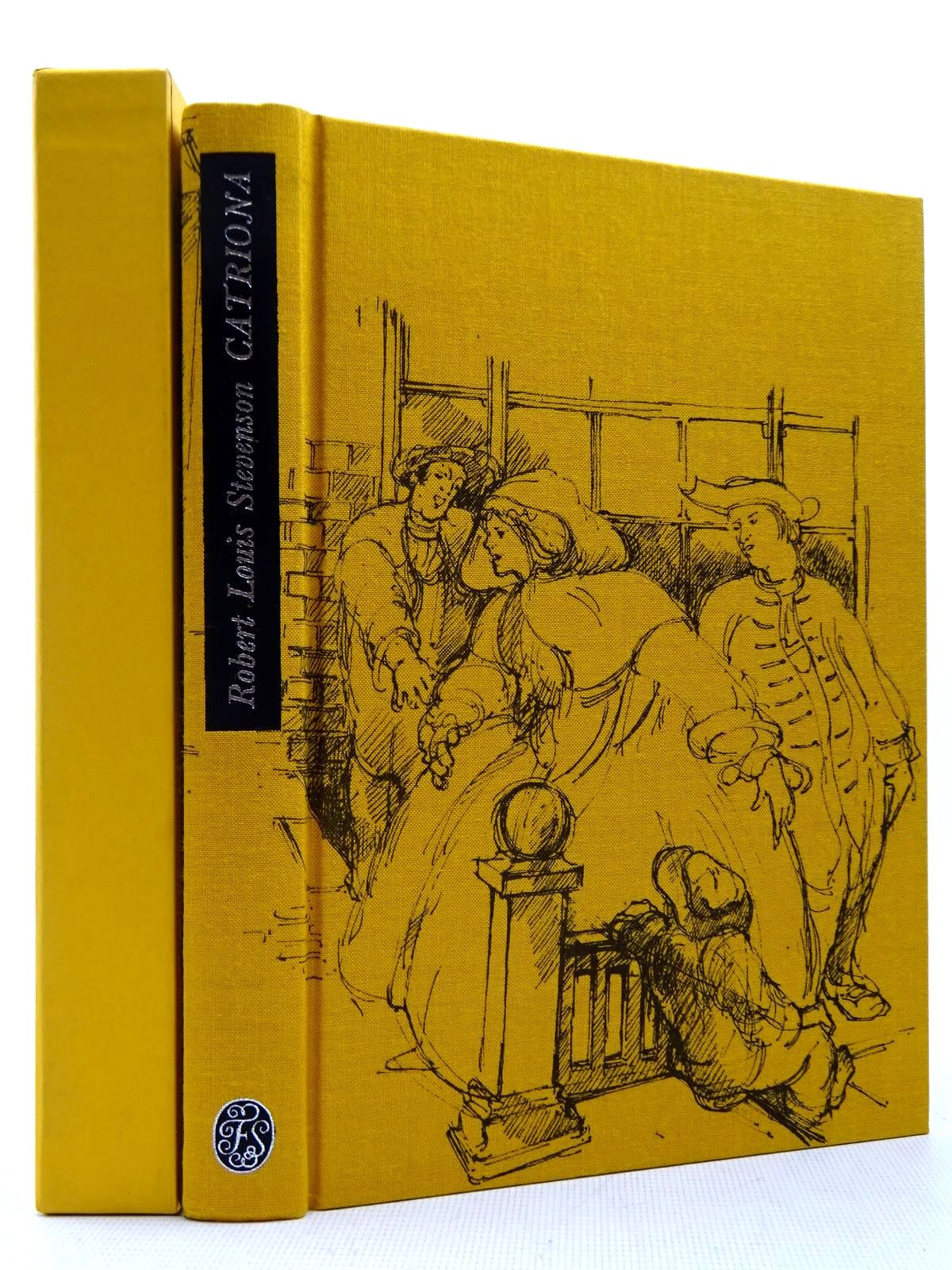 Photo of CATRIONA written by Stevenson, Robert Louis<br />Delaney, Frank illustrated by Newnham, Annie published by Folio Society (STOCK CODE: 2129388)  for sale by Stella & Rose's Books