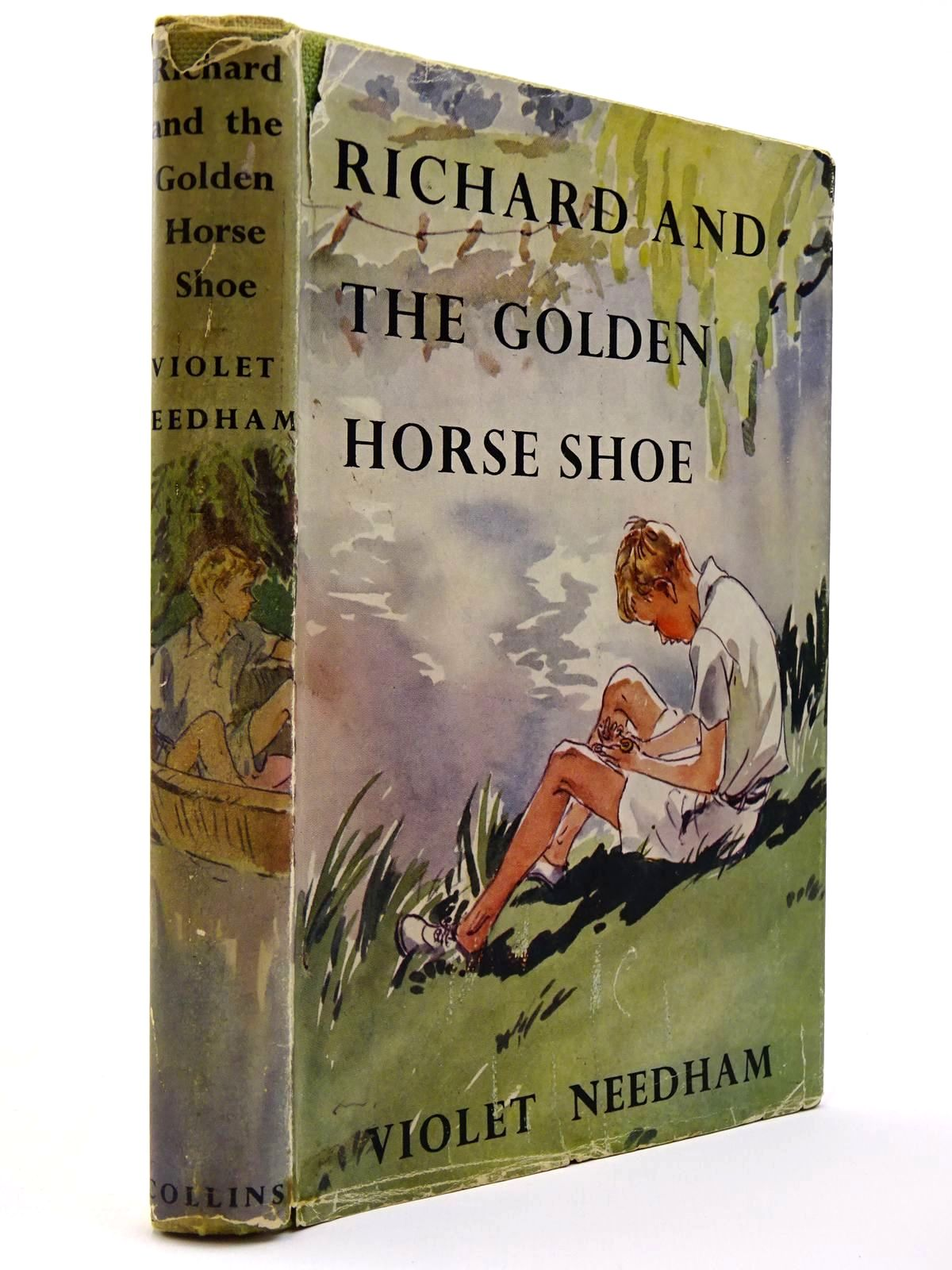 Photo of RICHARD AND THE GOLDEN HORSE SHOE written by Needham, Violet illustrated by Bruce, Joyce published by Collins (STOCK CODE: 2129405)  for sale by Stella & Rose's Books