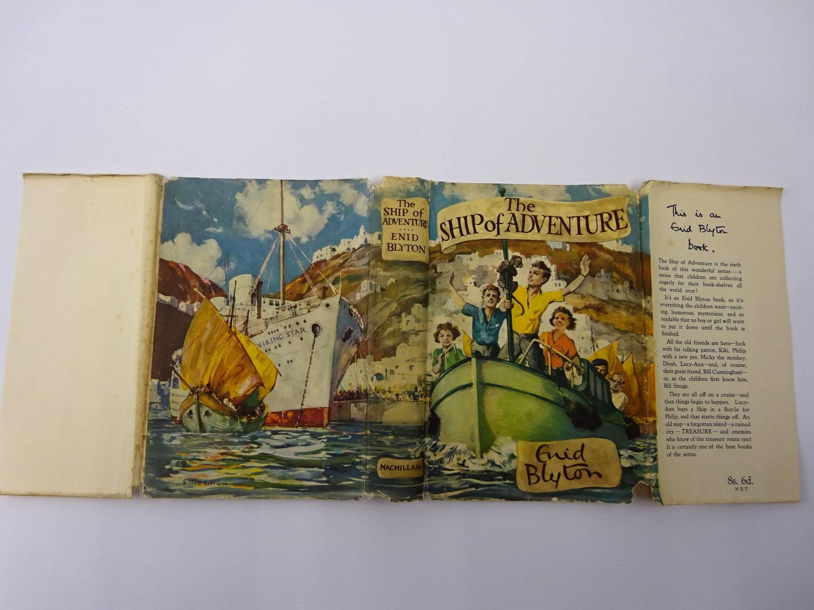 Photo of THE SHIP OF ADVENTURE written by Blyton, Enid illustrated by Tresilian, Stuart published by Macmillan & Co. Ltd. (STOCK CODE: 2129412)  for sale by Stella & Rose's Books
