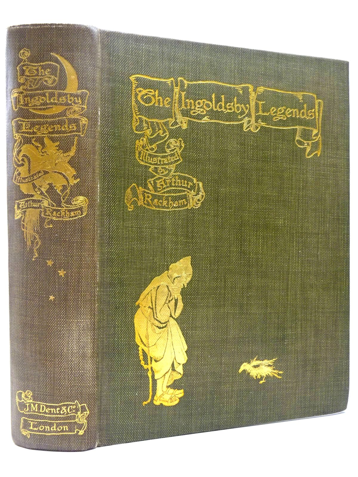 Photo of THE INGOLDSBY LEGENDS written by Ingoldsby, Thomas illustrated by Rackham, Arthur published by J.M. Dent & Co. (STOCK CODE: 2129422)  for sale by Stella & Rose's Books