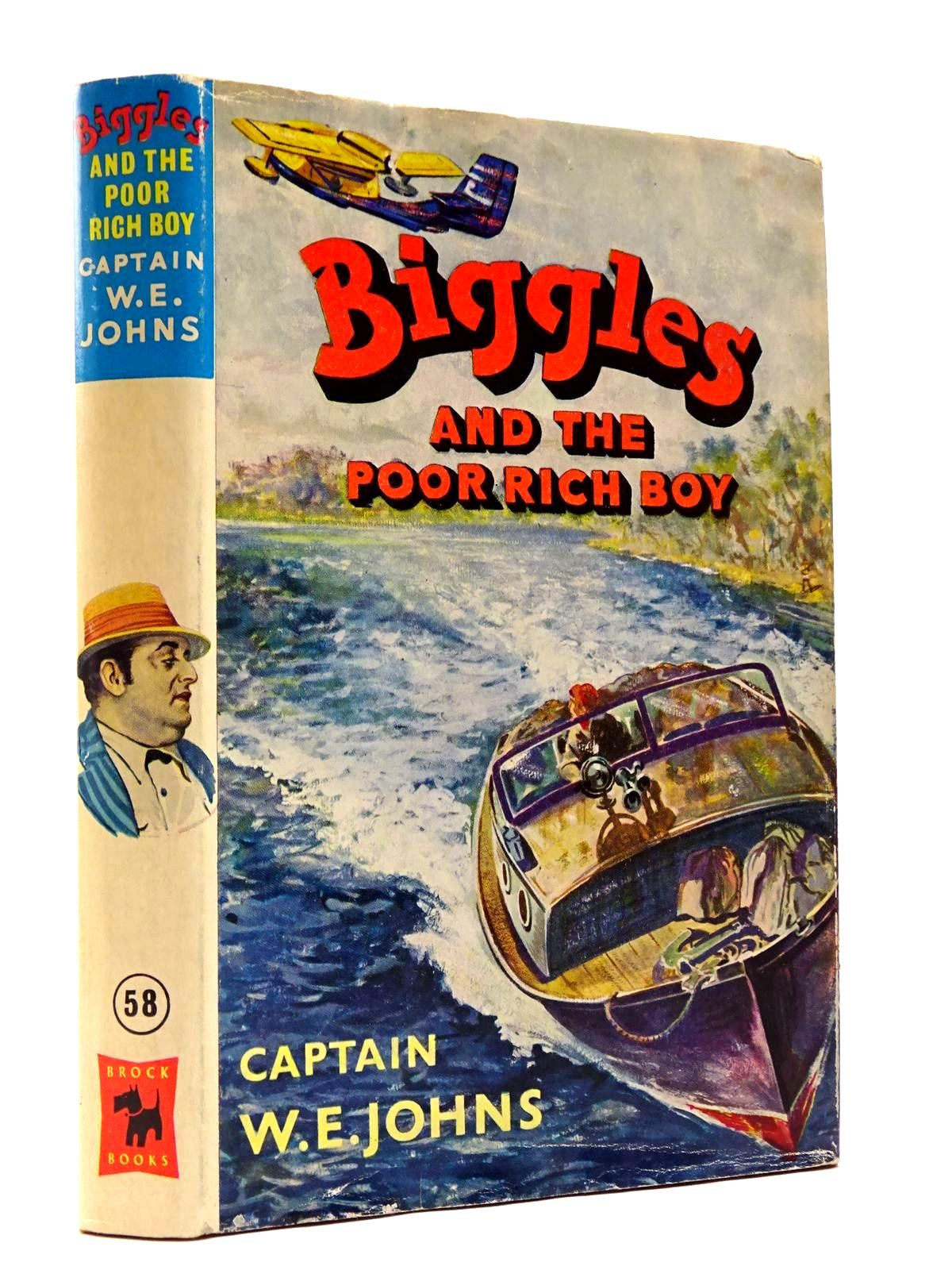 Photo of BIGGLES AND THE POOR RICH BOY written by Johns, W.E. illustrated by Stead, Leslie published by Brockhampton Press (STOCK CODE: 2129433)  for sale by Stella & Rose's Books
