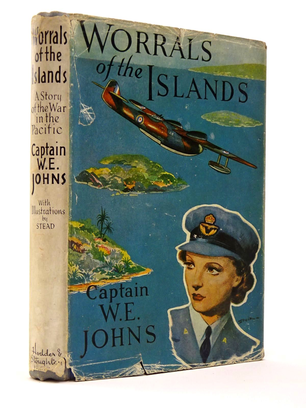 Photo of WORRALS OF THE ISLANDS written by Johns, W.E. illustrated by Stead,  published by Hodder & Stoughton (STOCK CODE: 2129449)  for sale by Stella & Rose's Books