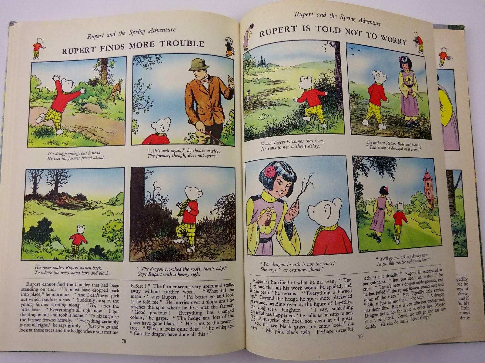 Photo of RUPERT ANNUAL 1958 written by Bestall, Alfred illustrated by Bestall, Alfred published by Daily Express (STOCK CODE: 2129477)  for sale by Stella & Rose's Books