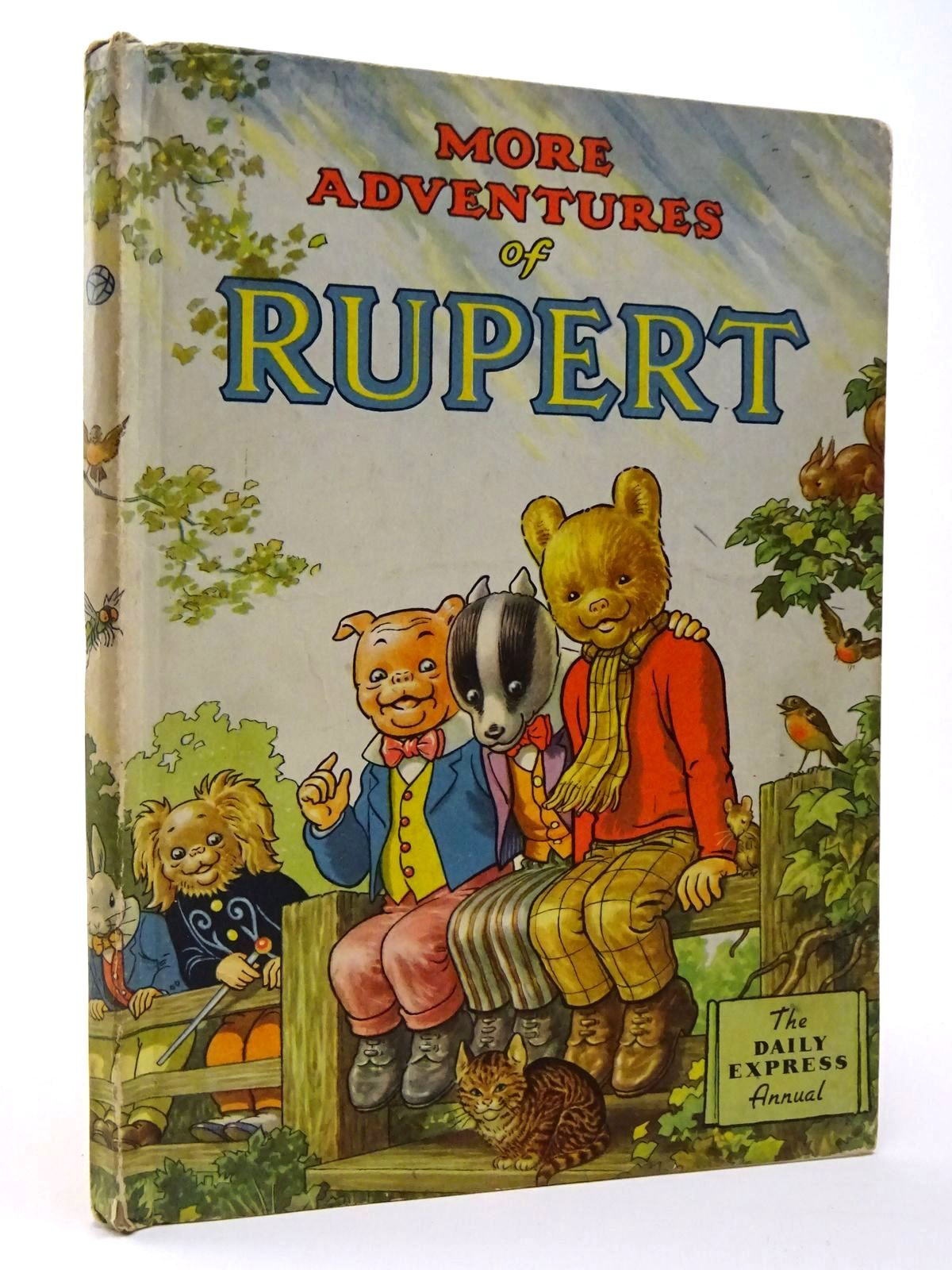 Photo of RUPERT ANNUAL 1953 - MORE ADVENTURES OF RUPERT written by Bestall, Alfred illustrated by Bestall, Alfred published by Daily Express (STOCK CODE: 2129478)  for sale by Stella & Rose's Books