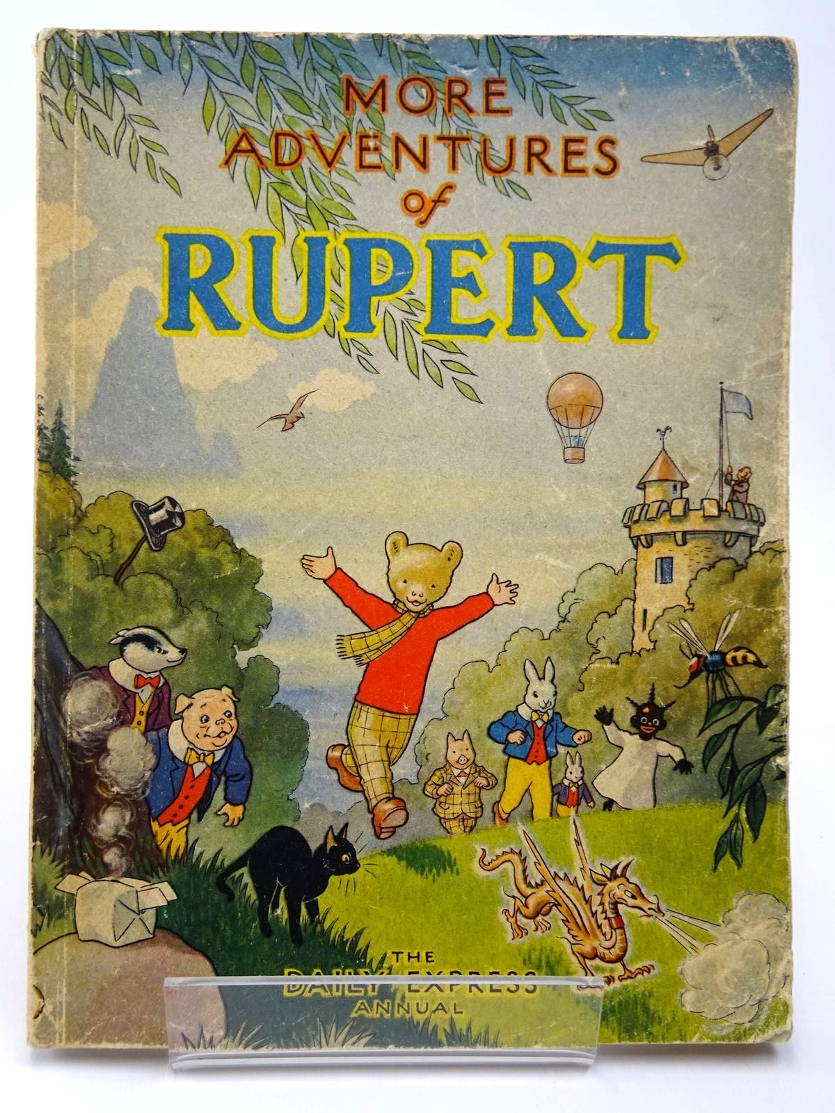 Photo of RUPERT ANNUAL 1947 - MORE ADVENTURES OF RUPERT written by Bestall, Alfred illustrated by Bestall, Alfred published by Daily Express (STOCK CODE: 2129501)  for sale by Stella & Rose's Books