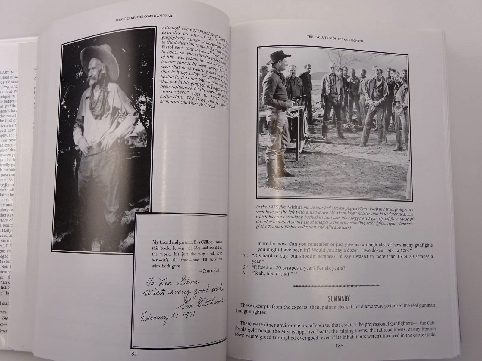 Photo of WYATT EARP A BIOGRAPHY OF THE LEGEND VOLUME I: THE COWTOWN YEARS written by Silva, Lee A. Kelton, Elmer et al, published by Graphic Publishers (STOCK CODE: 2129559)  for sale by Stella & Rose's Books