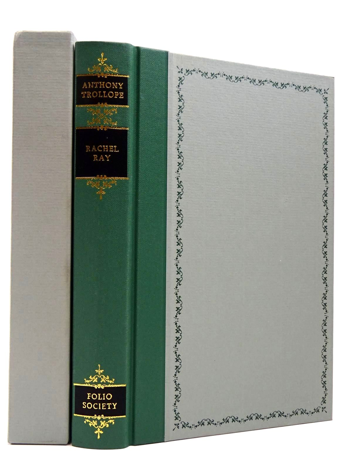 Photo of RACHEL RAY written by Trollope, Anthony illustrated by Eccles, David published by Folio Society (STOCK CODE: 2129622)  for sale by Stella & Rose's Books