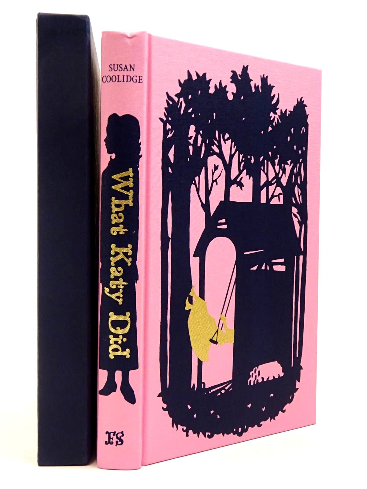 Photo of WHAT KATY DID written by Coolidge, Susan<br />Craig, Amanda illustrated by Staffo, Deanna published by Folio Society (STOCK CODE: 2129682)  for sale by Stella & Rose's Books