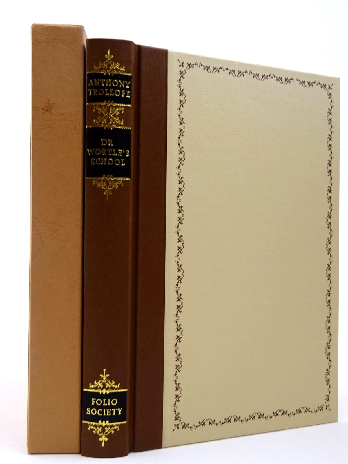 Photo of DR WORTLE'S SCHOOL written by Trollope, Anthony<br />Rae, John illustrated by Jacques, Robin published by Folio Society (STOCK CODE: 2129721)  for sale by Stella & Rose's Books