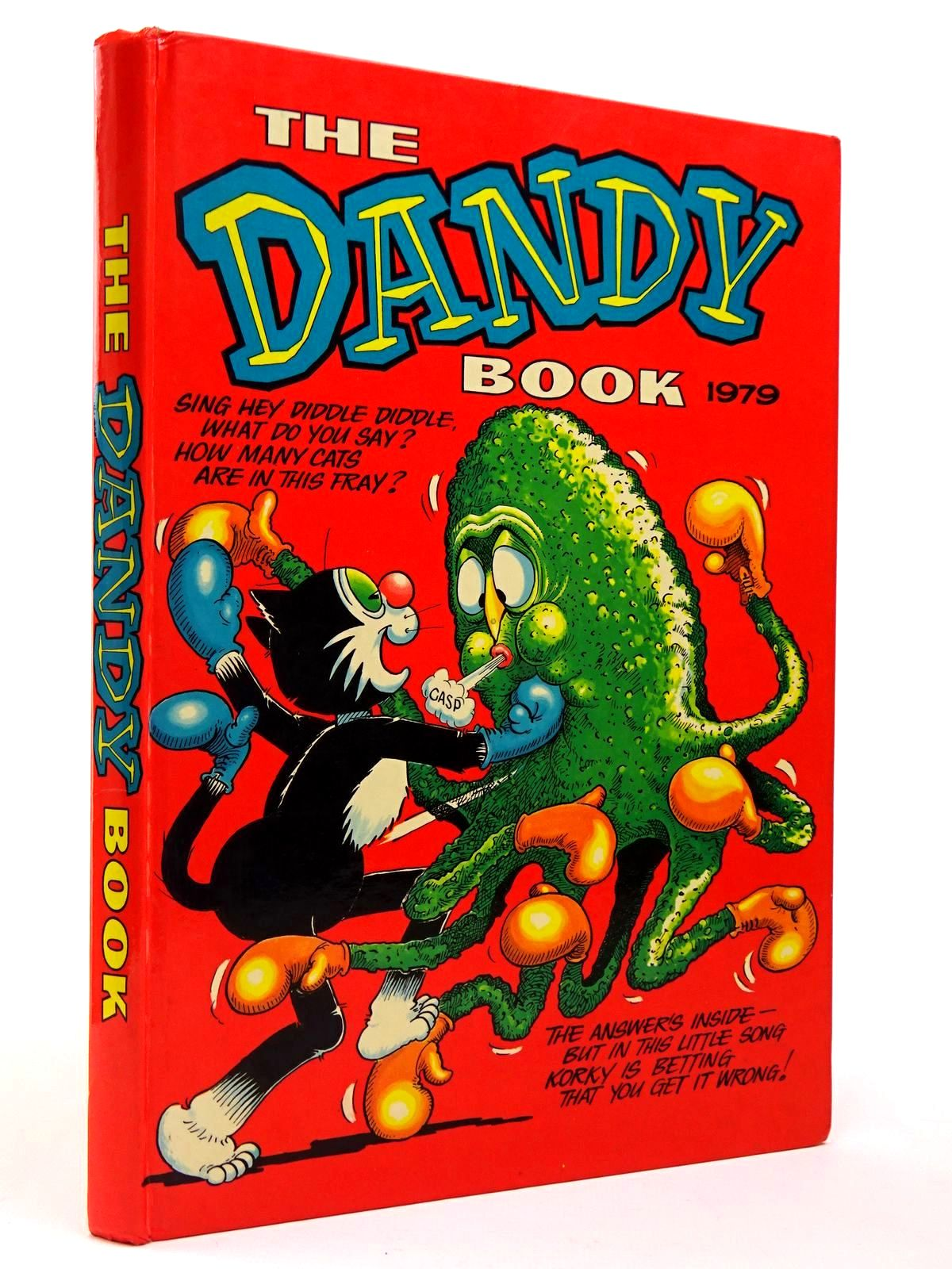 Photo of THE DANDY BOOK 1979 published by D.C. Thomson & Co Ltd. (STOCK CODE: 2129724)  for sale by Stella & Rose's Books